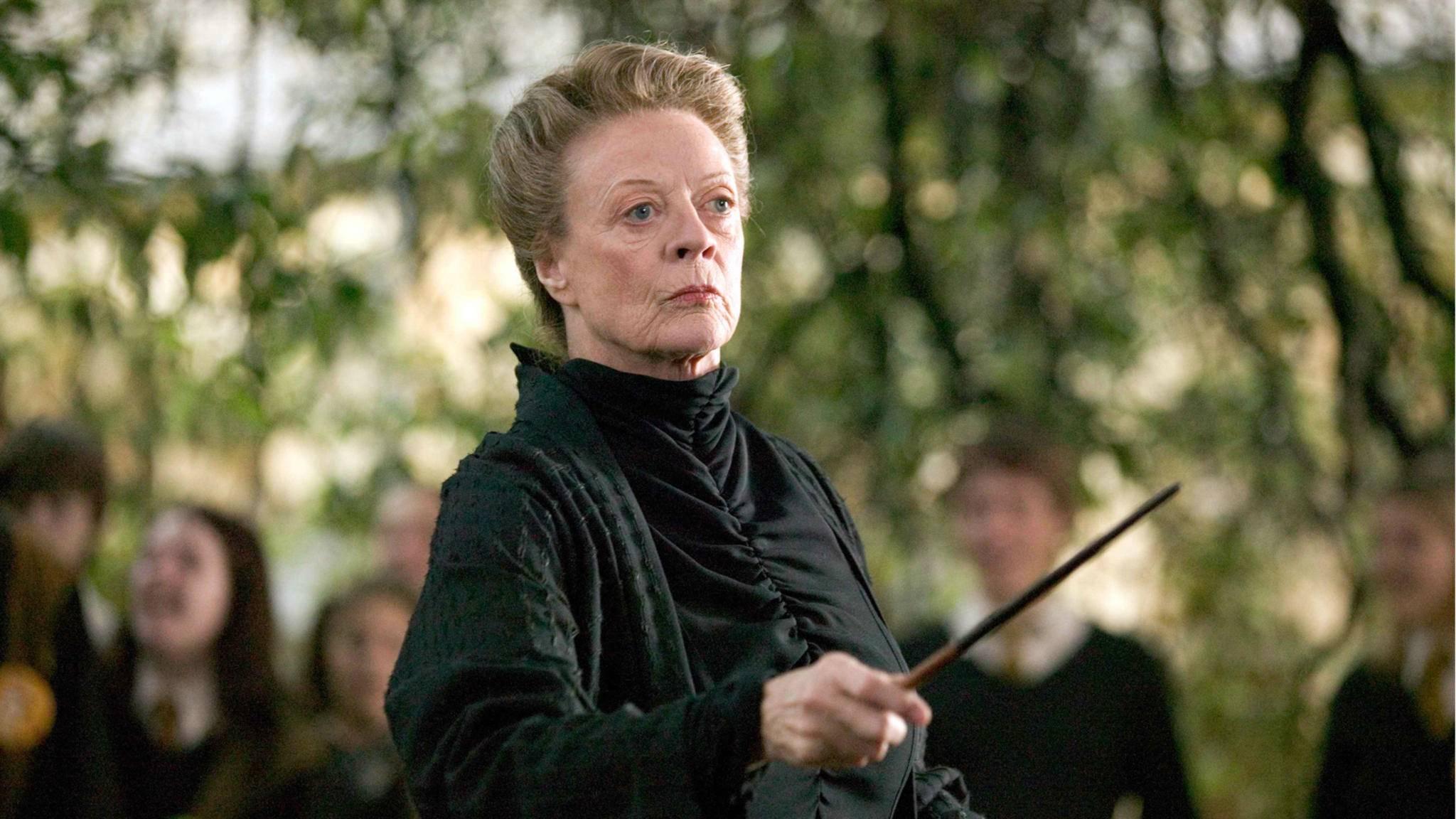 """Wird Minerva McGonagall in """"Grindelwalds Verbrechen"""" Dumbledore beistehen?"""
