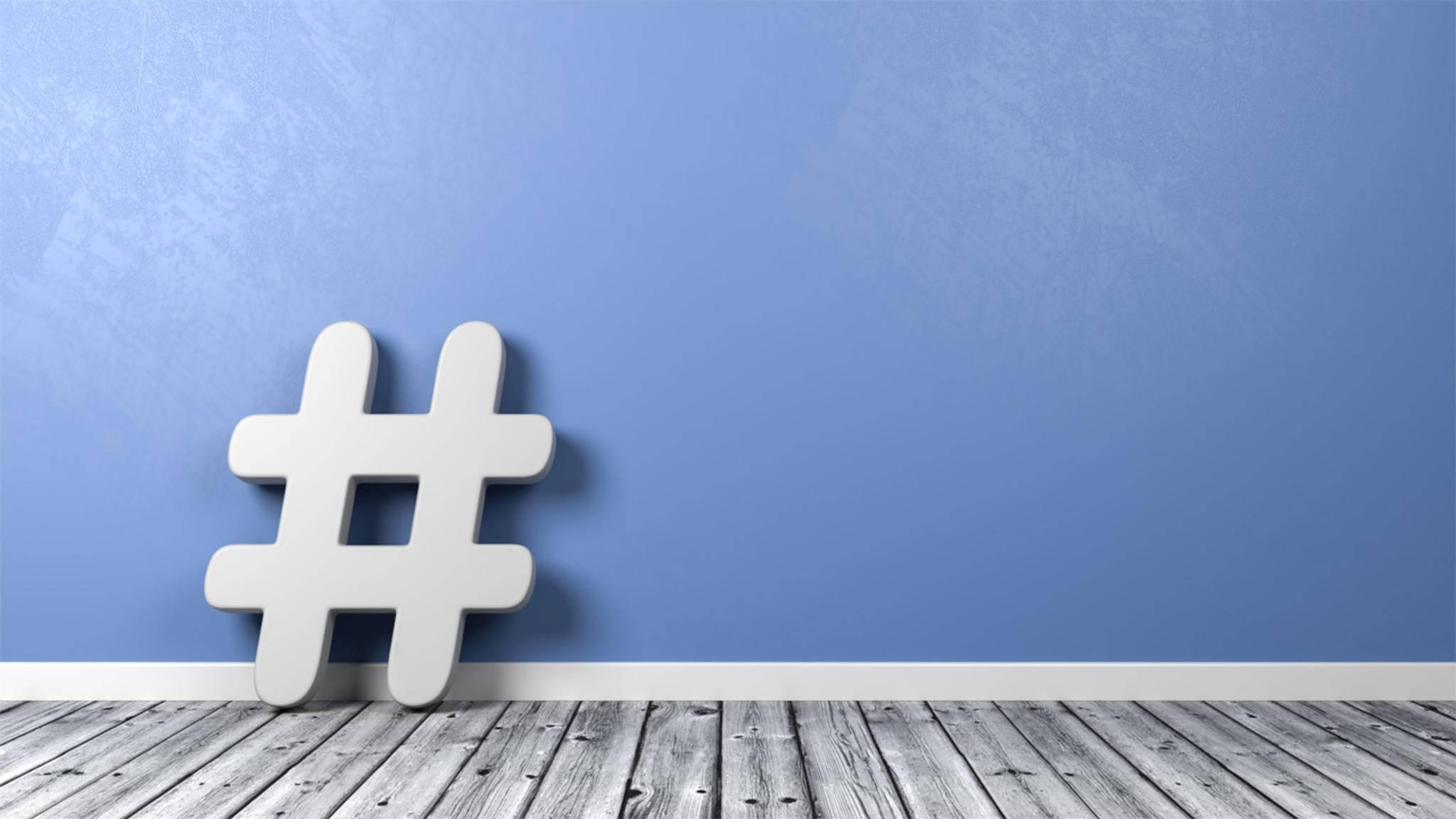 Bekannt wurden Hashtags durch den Kurznachrichtendienst Twitter.