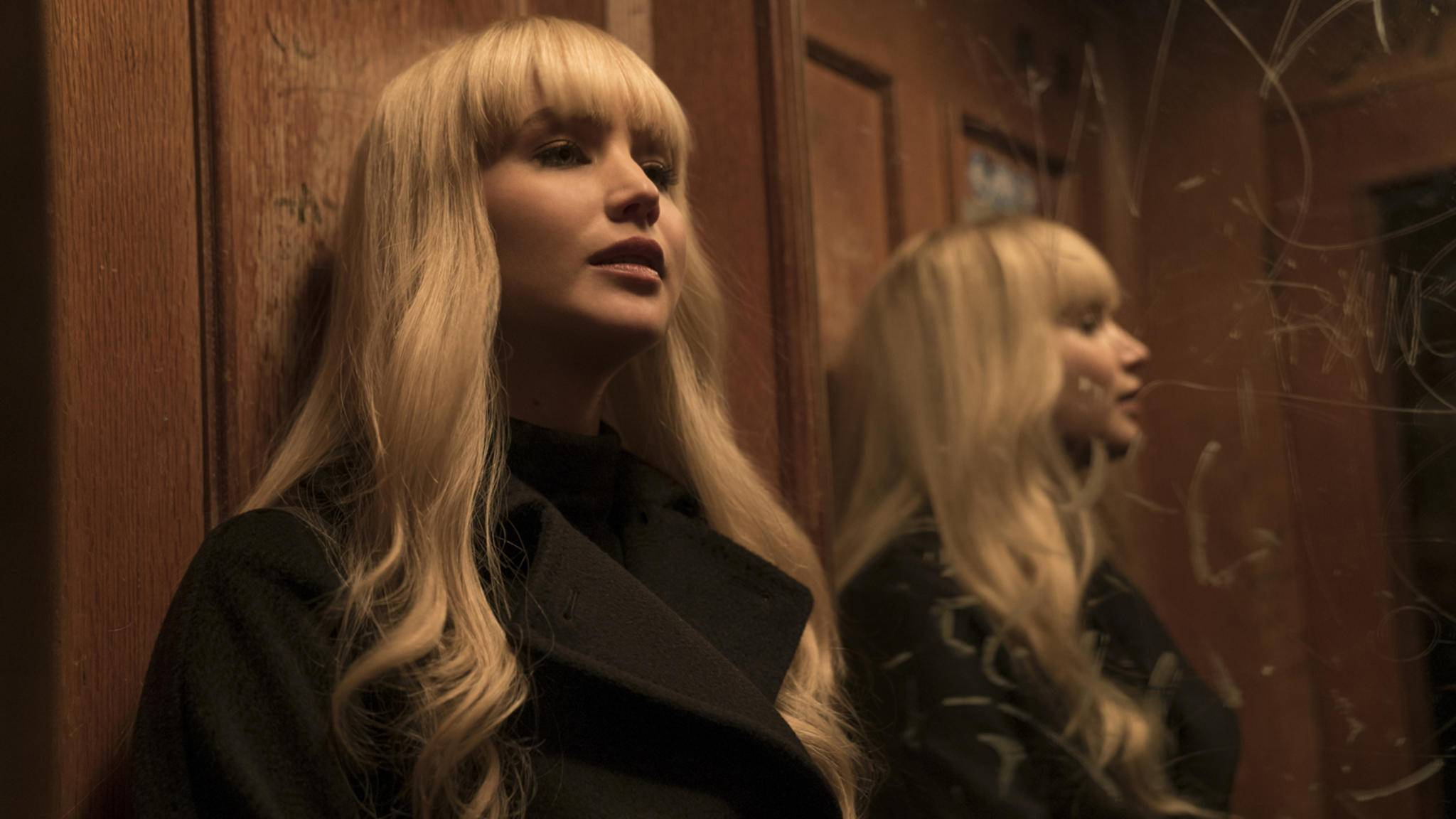 """Oscarpreisträgerin Jennifer Lawrence wird in """"Red Sparrow"""" zur Spionin wider Willen."""