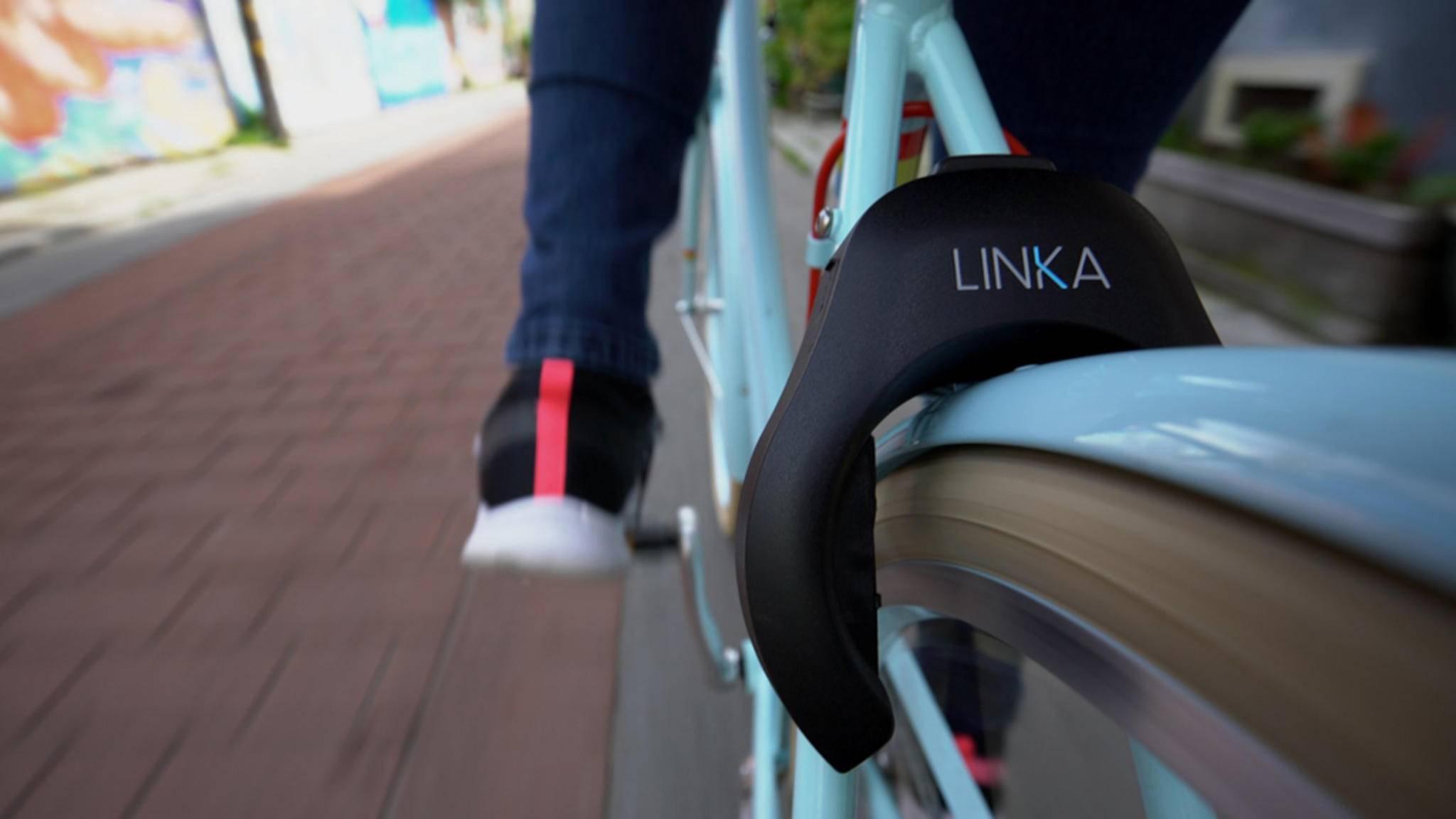 Die Fahrradschlösser Linka und Linka Leo sollen kurze Zwischenstopps erleichtern und für mehr Sicherheit sorgen.