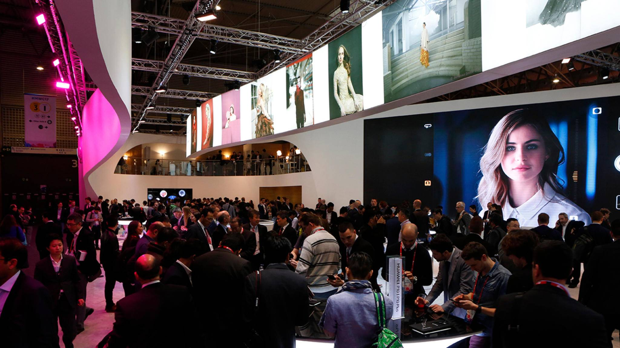 Der Mobile World Congress ist das Highlight im Februar.