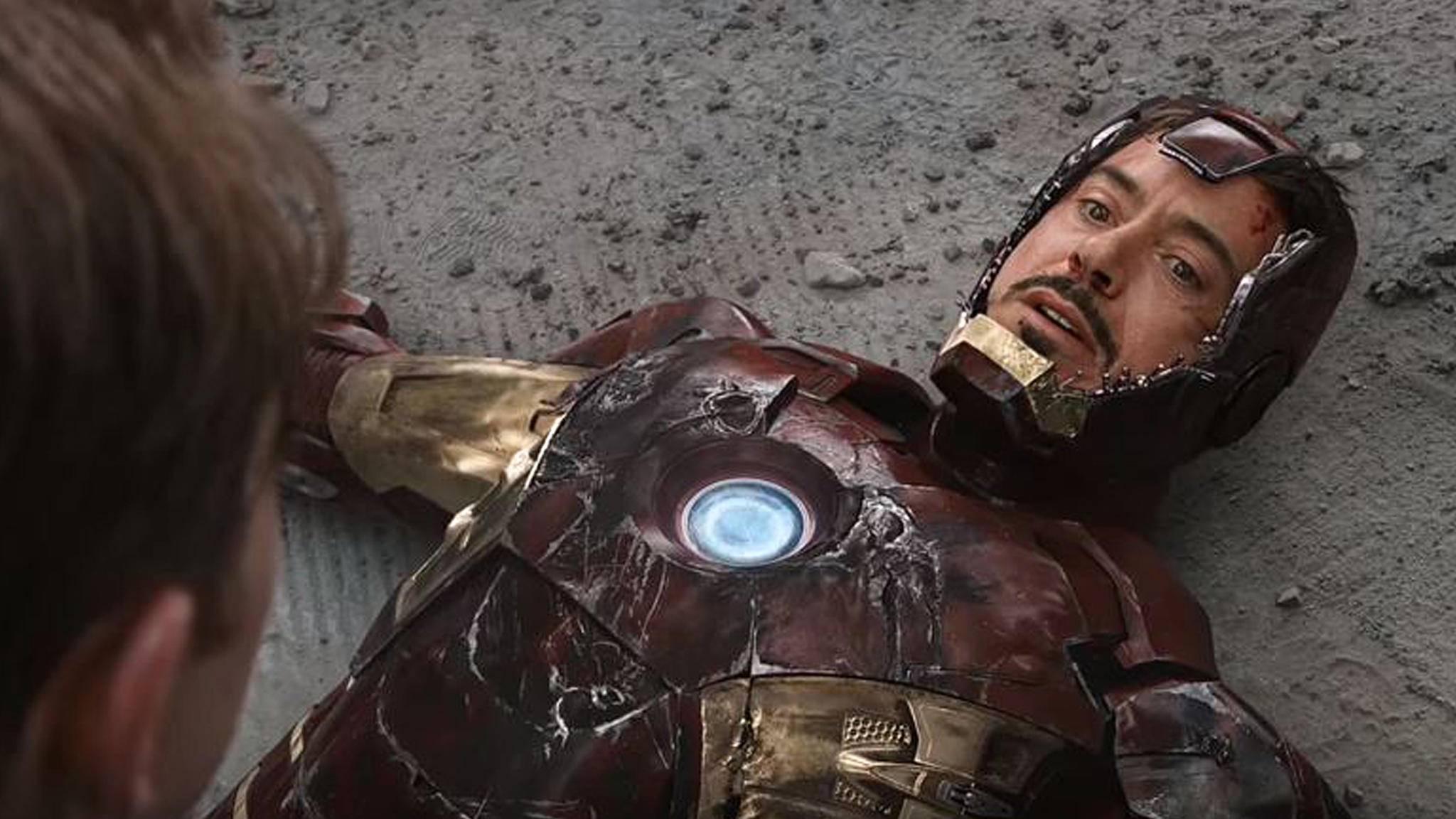 Bei dieser Szene hatte Schauspieler Robert Downey Jr. seine Finger in nicht unbeträchtlichem Umfang im Spiel.