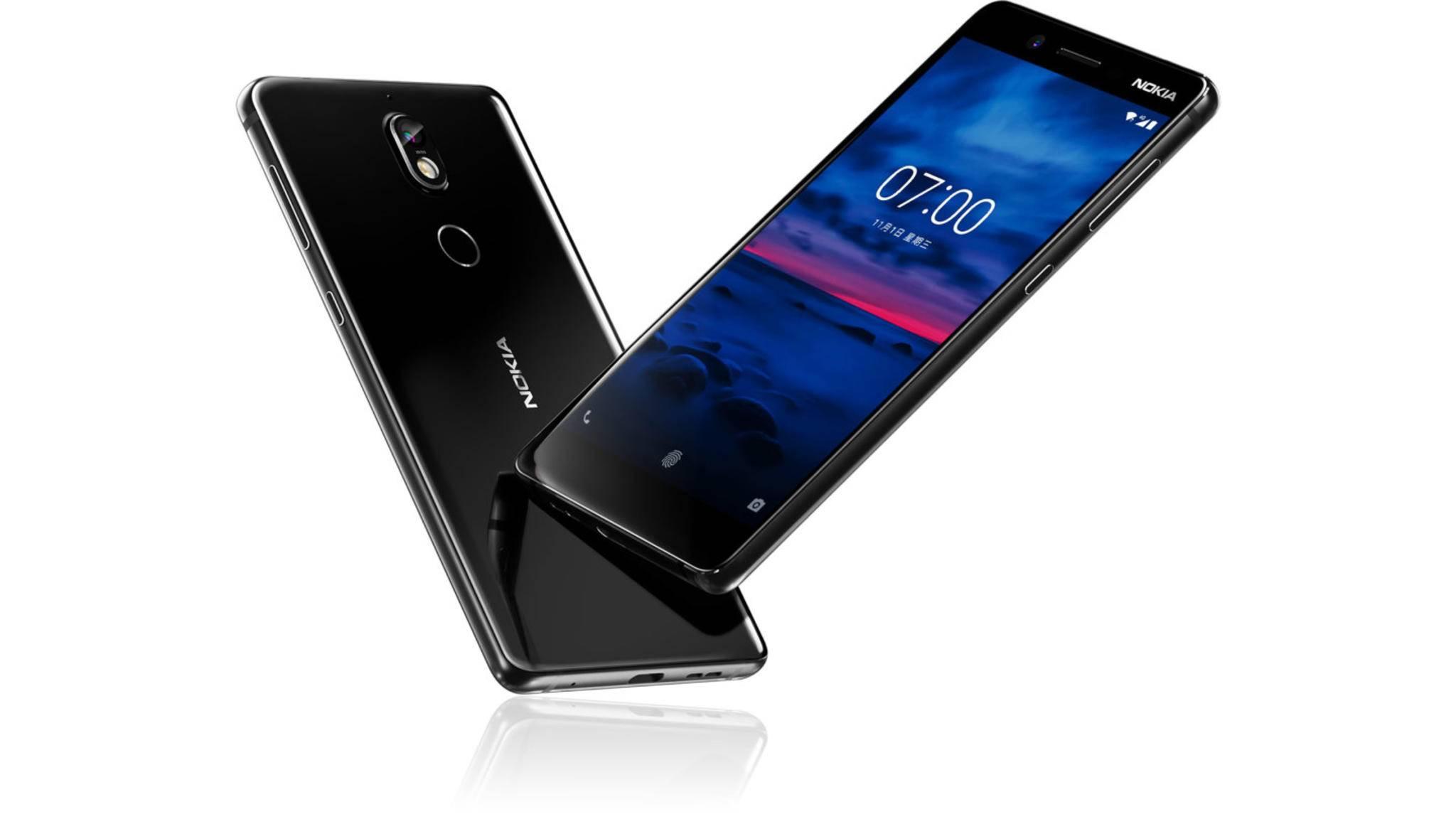 Das Nokia 7 Plus bietet wohl ein Sechs-Zoll-Display im 18:9-Format.