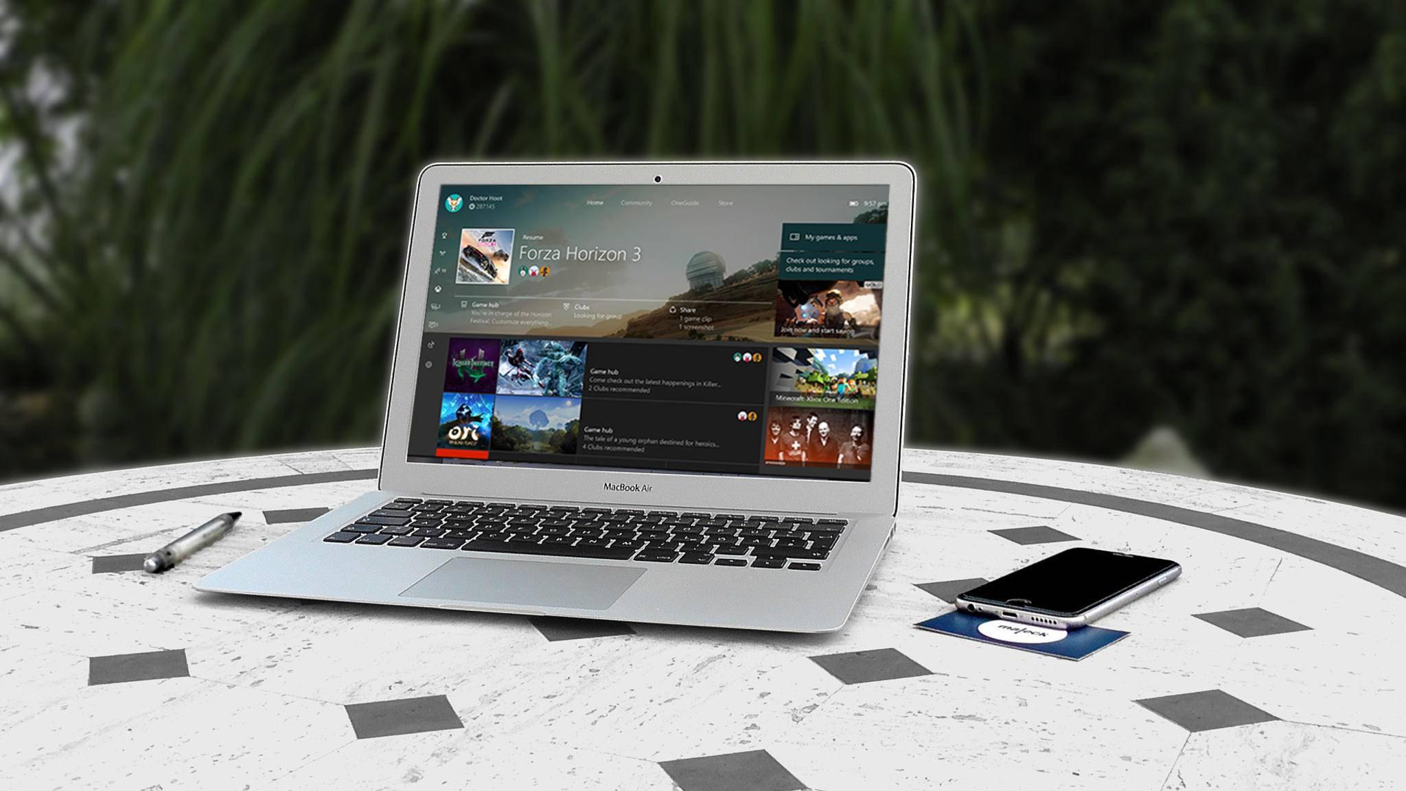 Jetzt kann die Xbox One auch auf den Mac gestreamt werden.