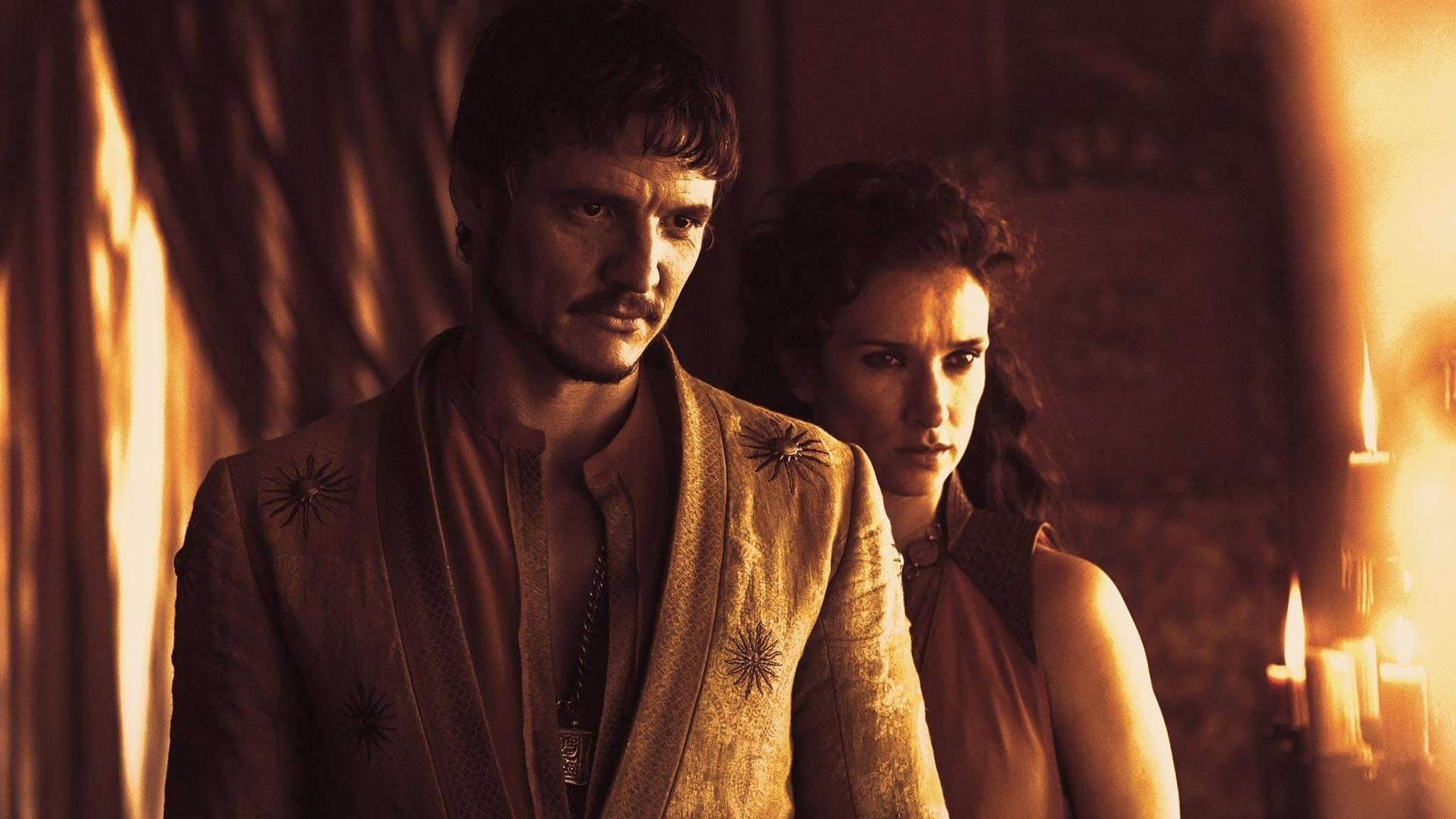 """Oberyn Martell wird auch die """"Rote Viper"""" genannt."""