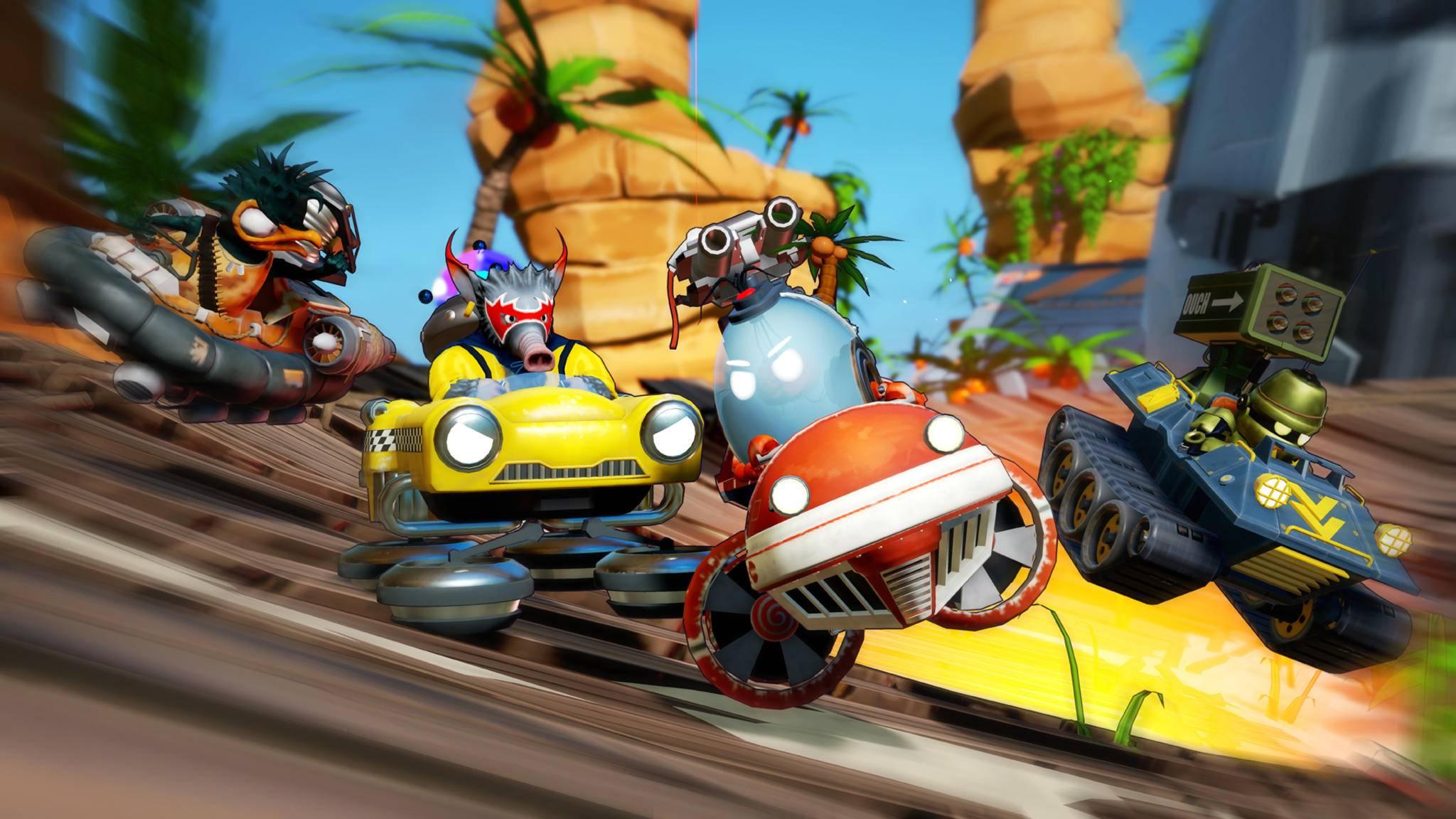 """Der Fun-Racer """"Obliteracers"""" ist eine """"Mario Kart""""-Alternative für die PS4."""