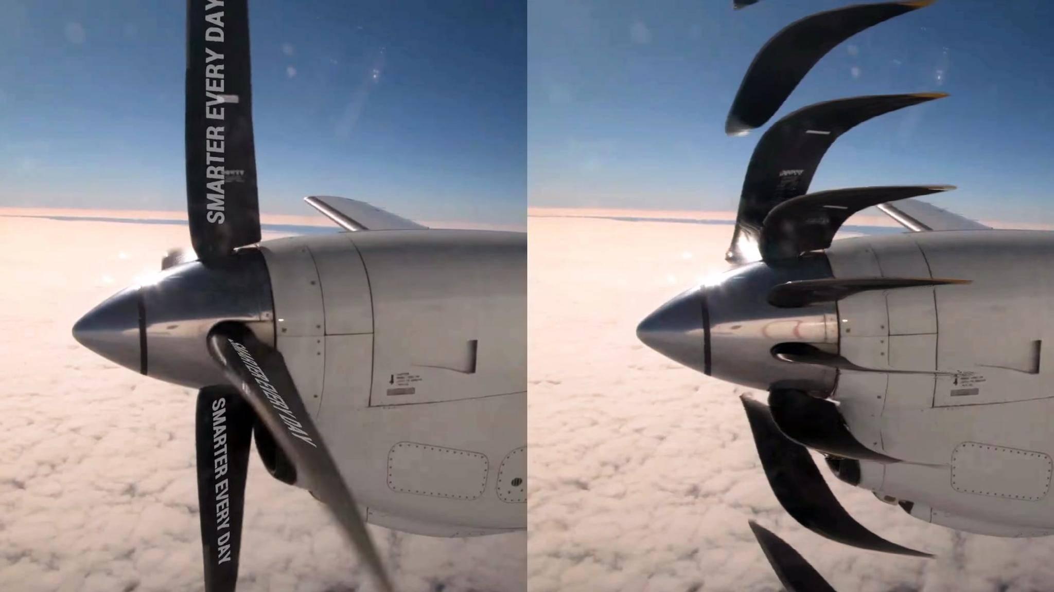 Sonys neuer Kamerasensor vermeidet den Rolling-Shutter-Effekt (rechts).