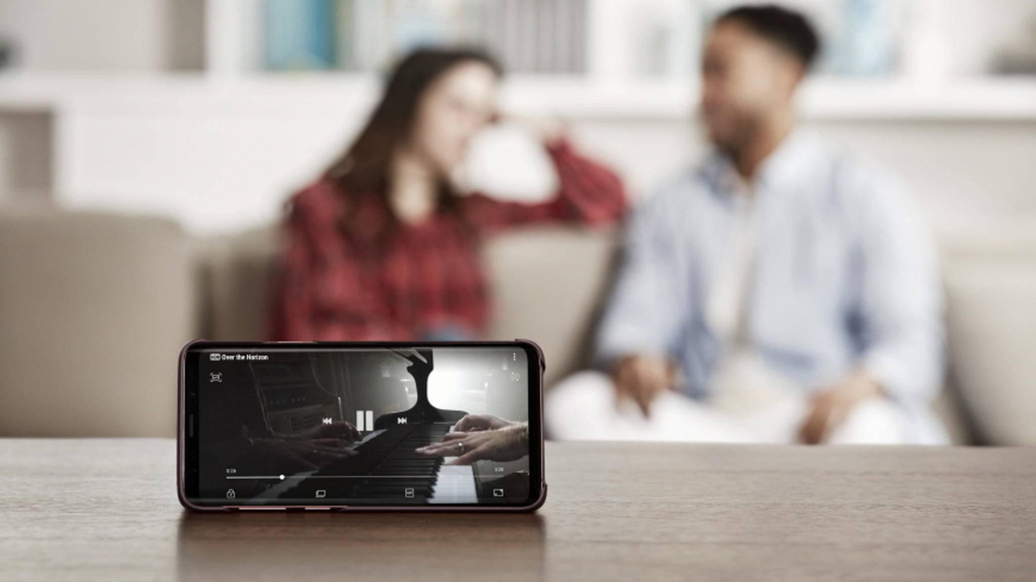 Samsung will allen Smartphone-Nutzern die Vorteile des Galaxy S9 erklären.
