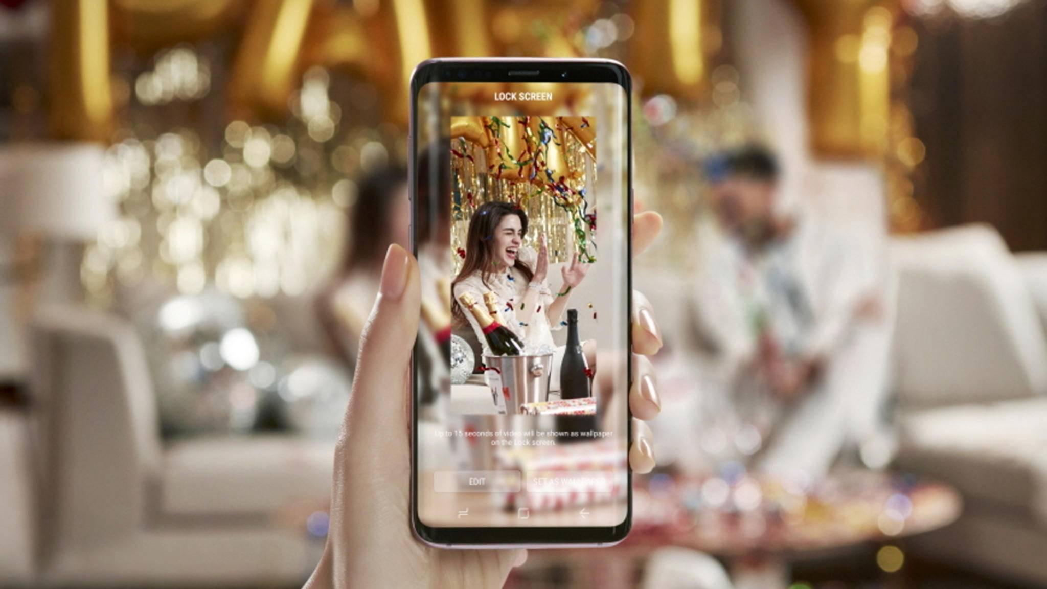 Optisch unterscheidet sich das Galaxy S9 vom Galaxy S8 nur in kleinen Details.