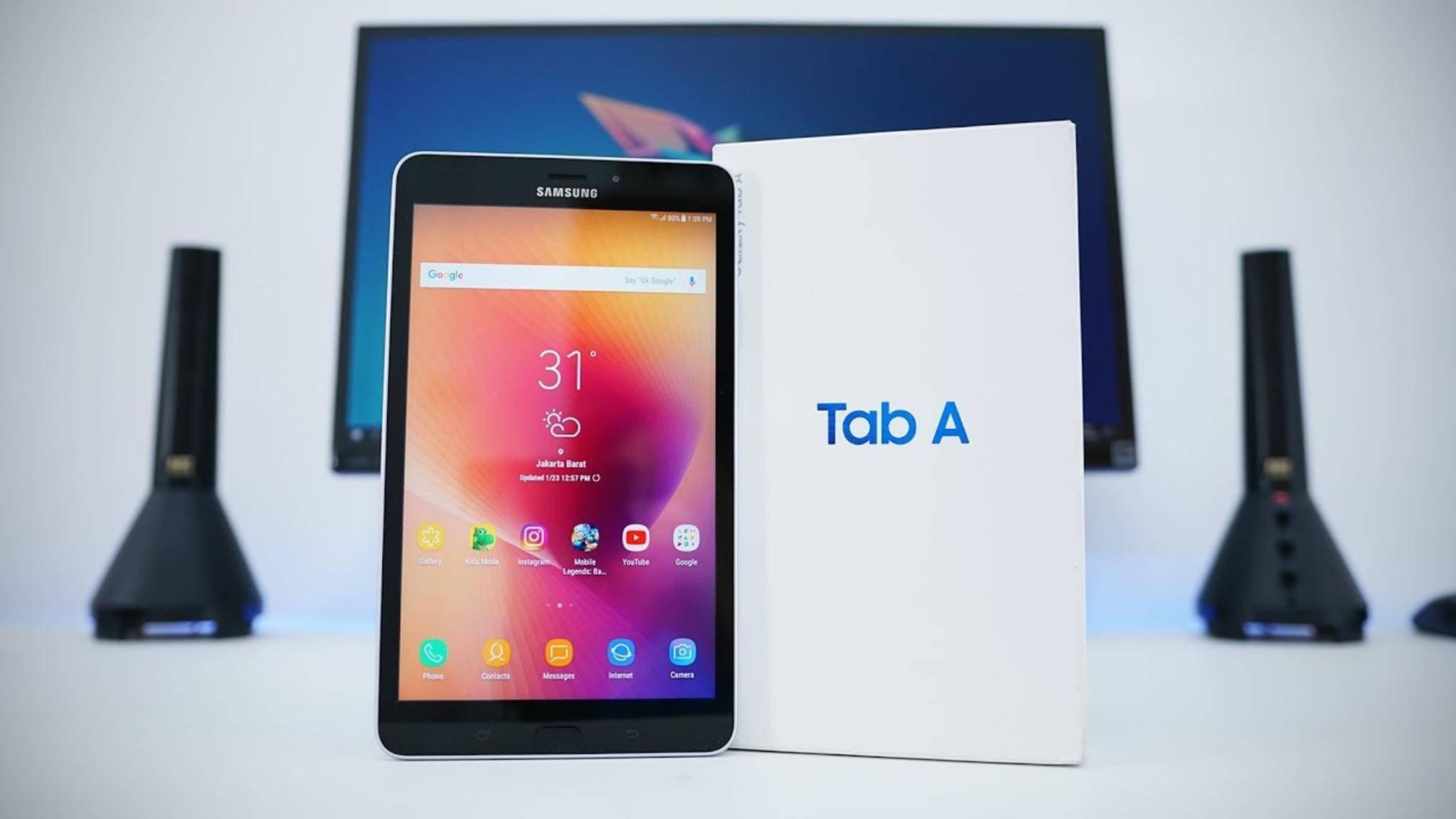 Das Galaxy Tab Advanced 2 sieht fast genauso aus wie das Galaxy Tab A 10.1.
