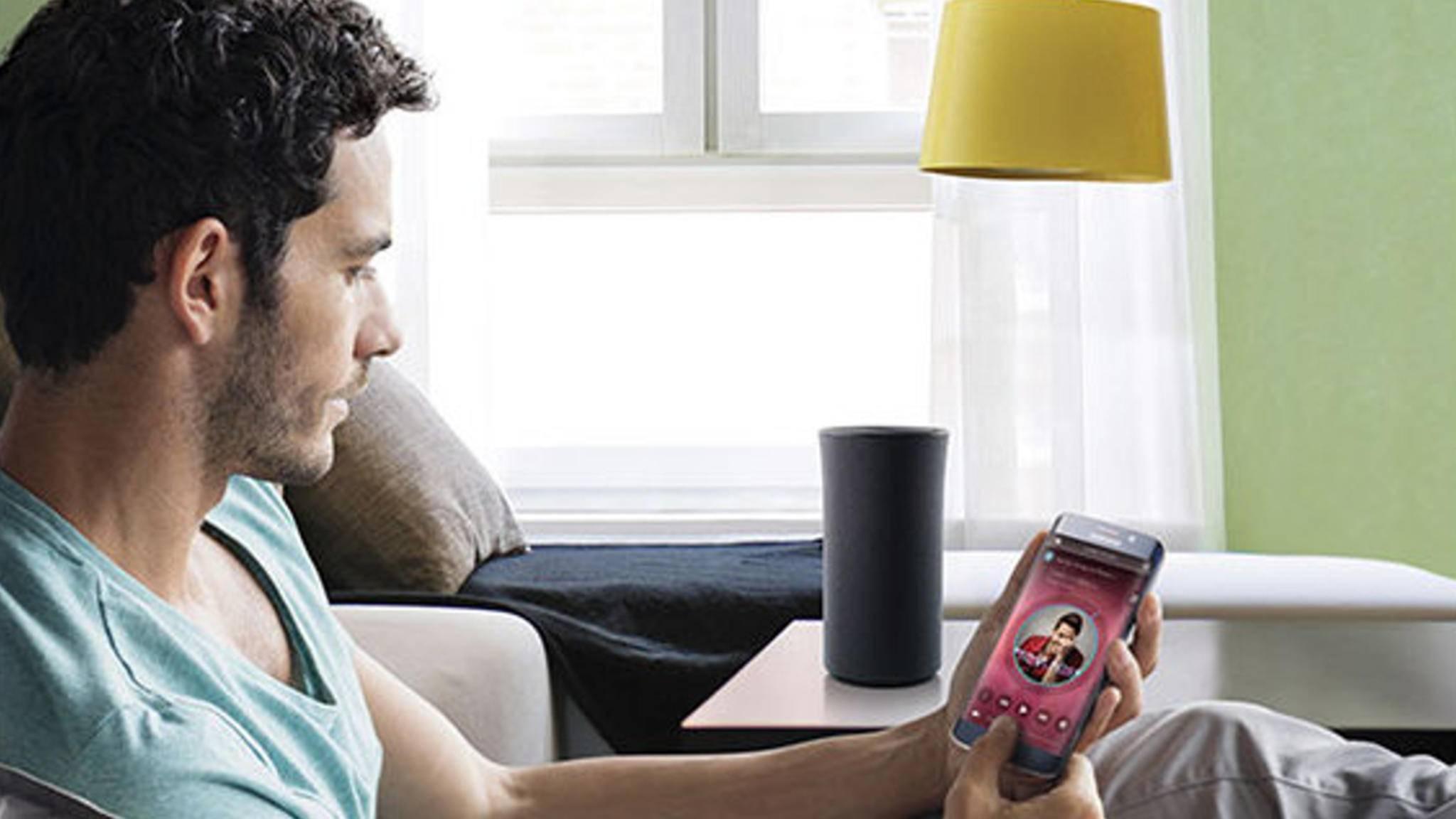 Ein Samsung-Lautsprecher mit Bixby ist schon länger im Gespräch.