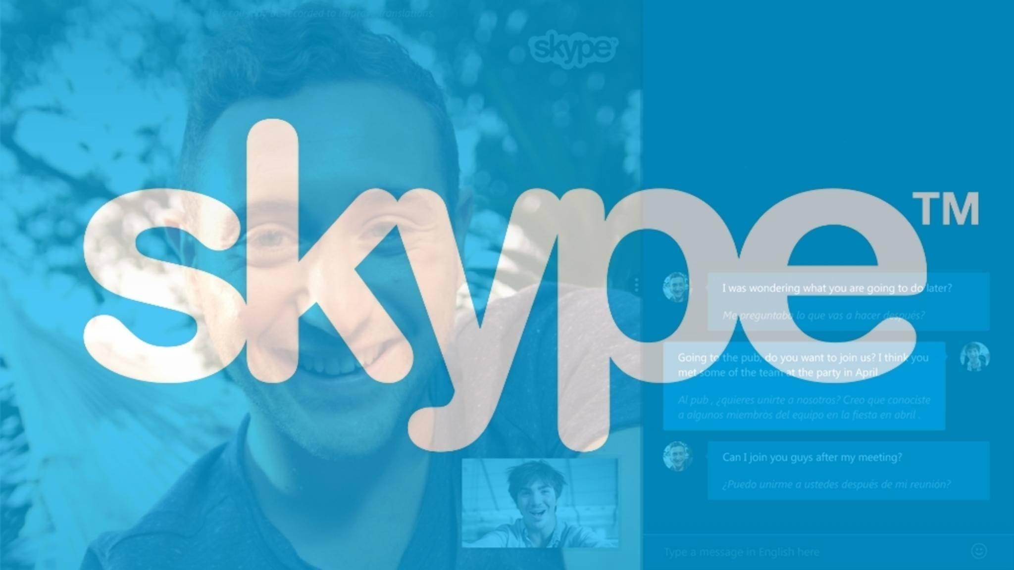 Eine Sicherheitslücke in Skype bleibt vorerst ungepatcht.