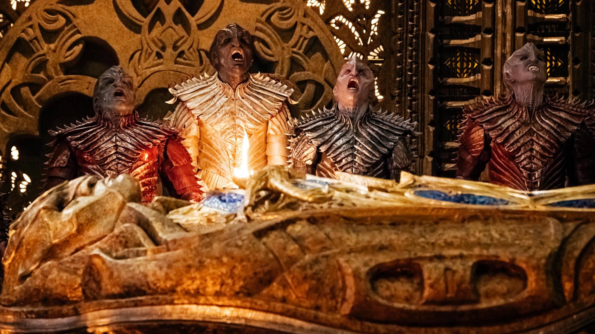 """Die Klingonen werden in Staffel 2 von """"Star Trek: Discovery"""" mal wieder einen neuen Look bekommen."""