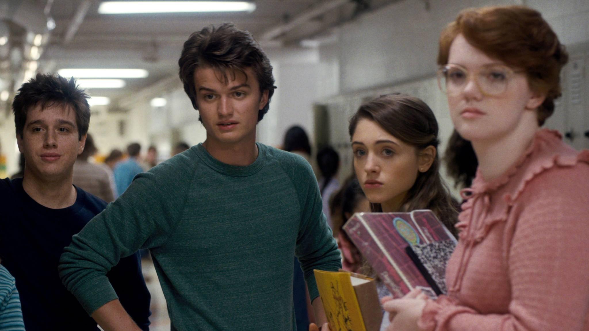 Die Charaktere aus der Hawkins High School sind offenbar auch bei Starbucks-Mitarbeitern beliebt.