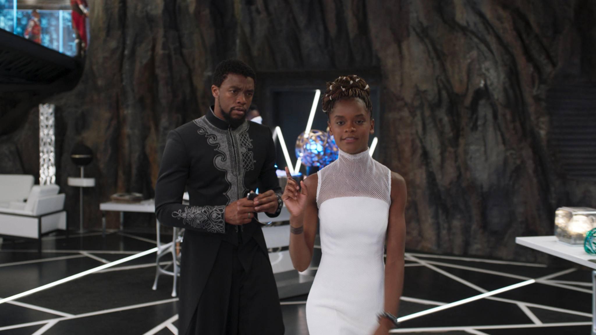 """Disney unterstützt Jugendliche, die der genialen Shuri (rechts im Bild) aus """"Black Panther"""" nacheifern wollen."""