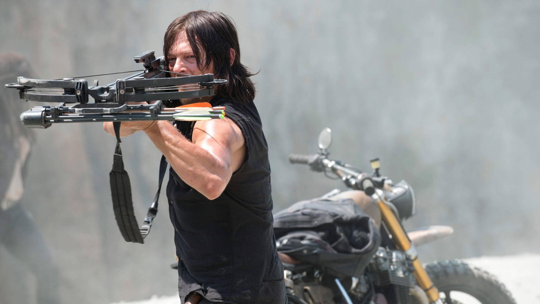 Endlich wissen wir, wie Daryls Armbrust heißt.
