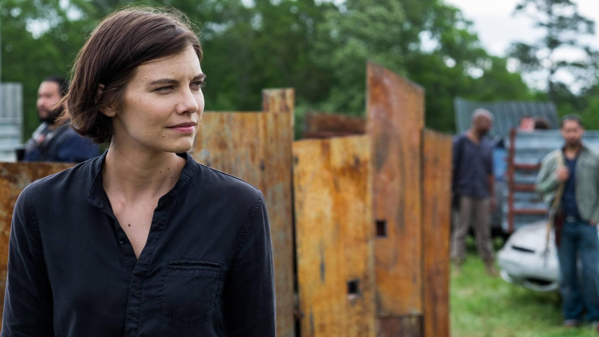 """Maggie wird auch in Staffel 9 von """"The Walking Dead"""" am Start sein – vorerst."""