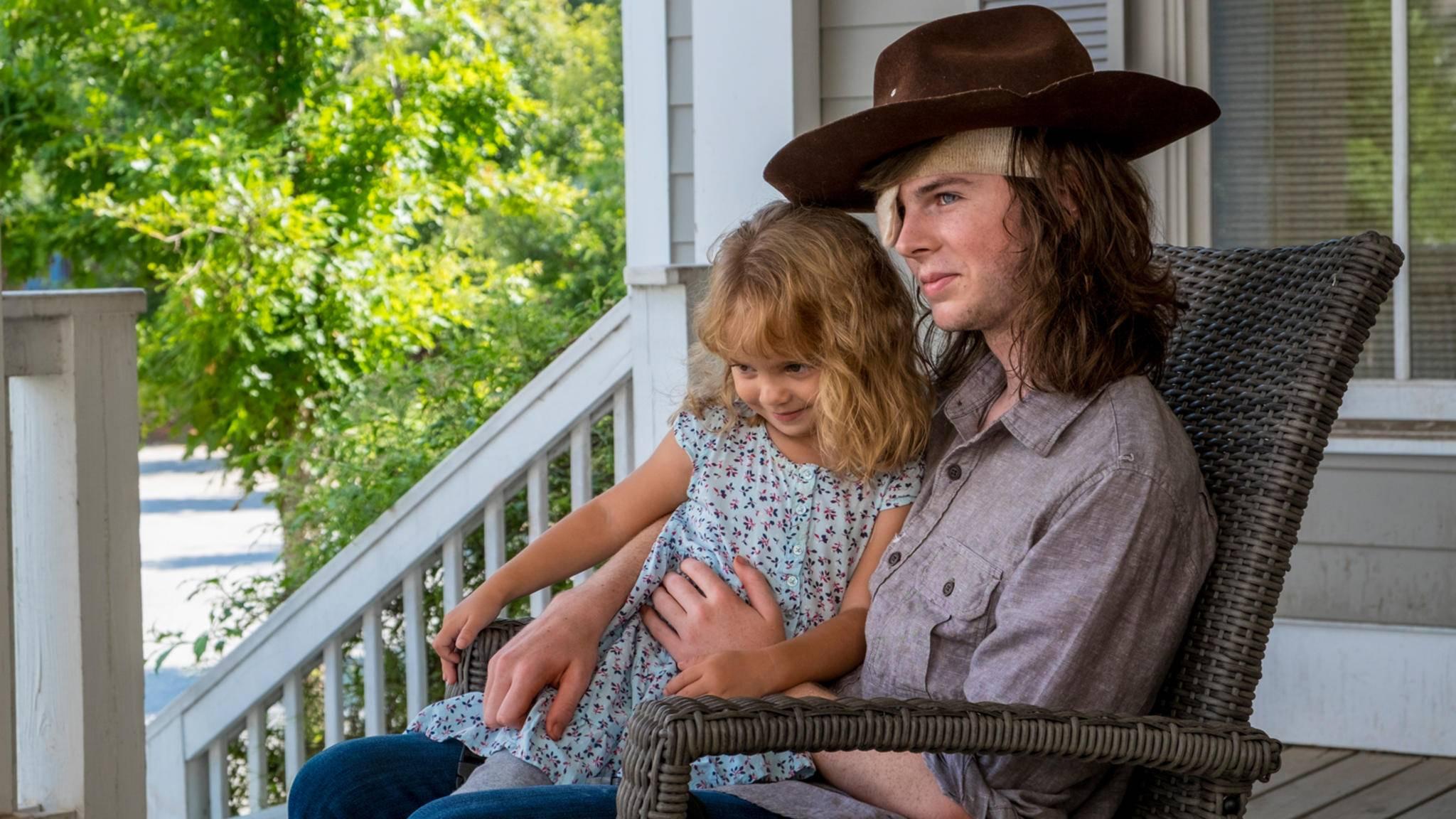 """Hat Carls Zukunftsvision in Staffel 9 von """"The Walking Dead"""" wirklich gute Aussichten?"""