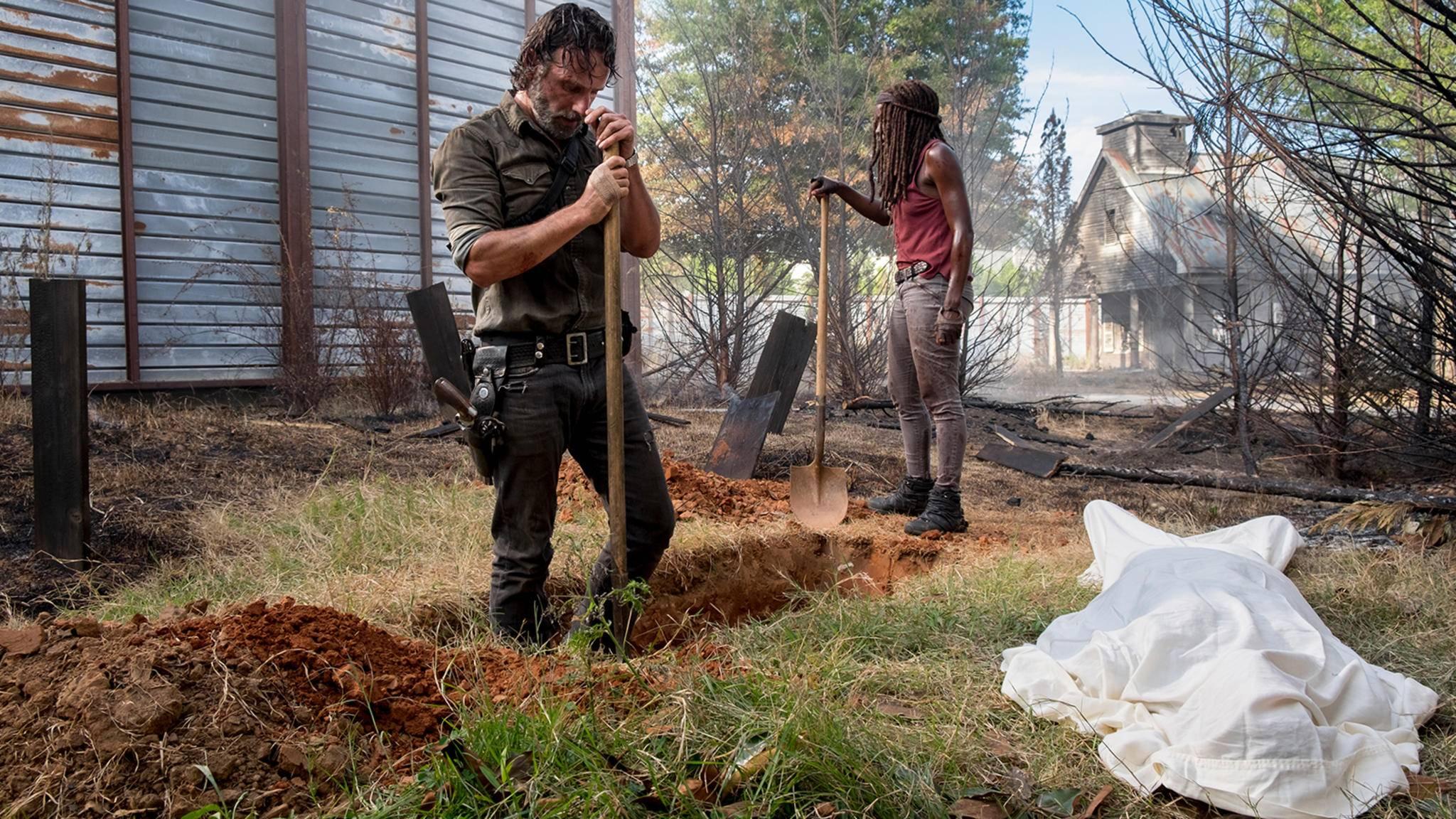 """""""The Walking Dead"""" meldet sich emotional zurück."""
