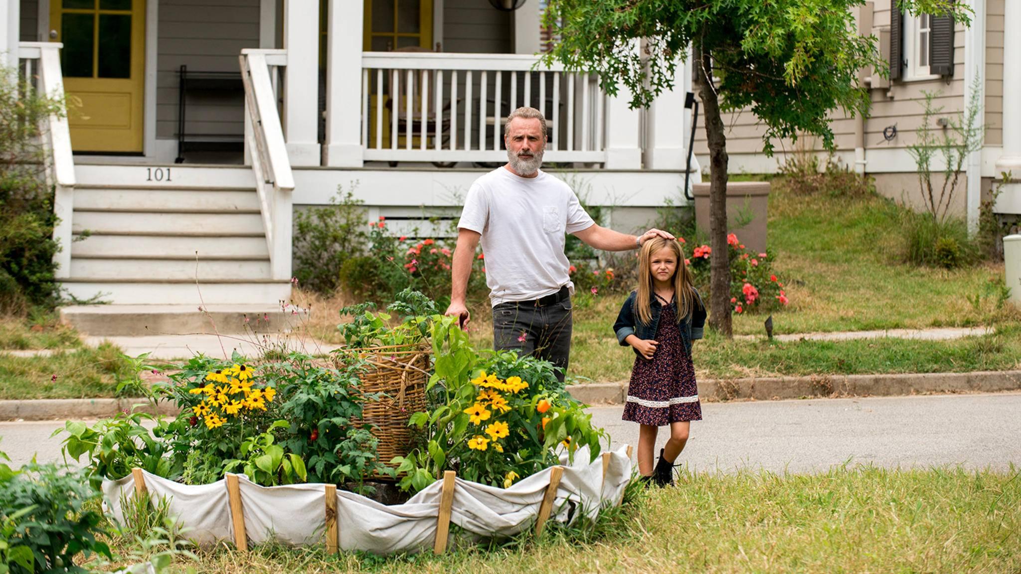 Was wohl alles passiert ist, bevor Judith so groß (und Rick so grau) geworden ist?