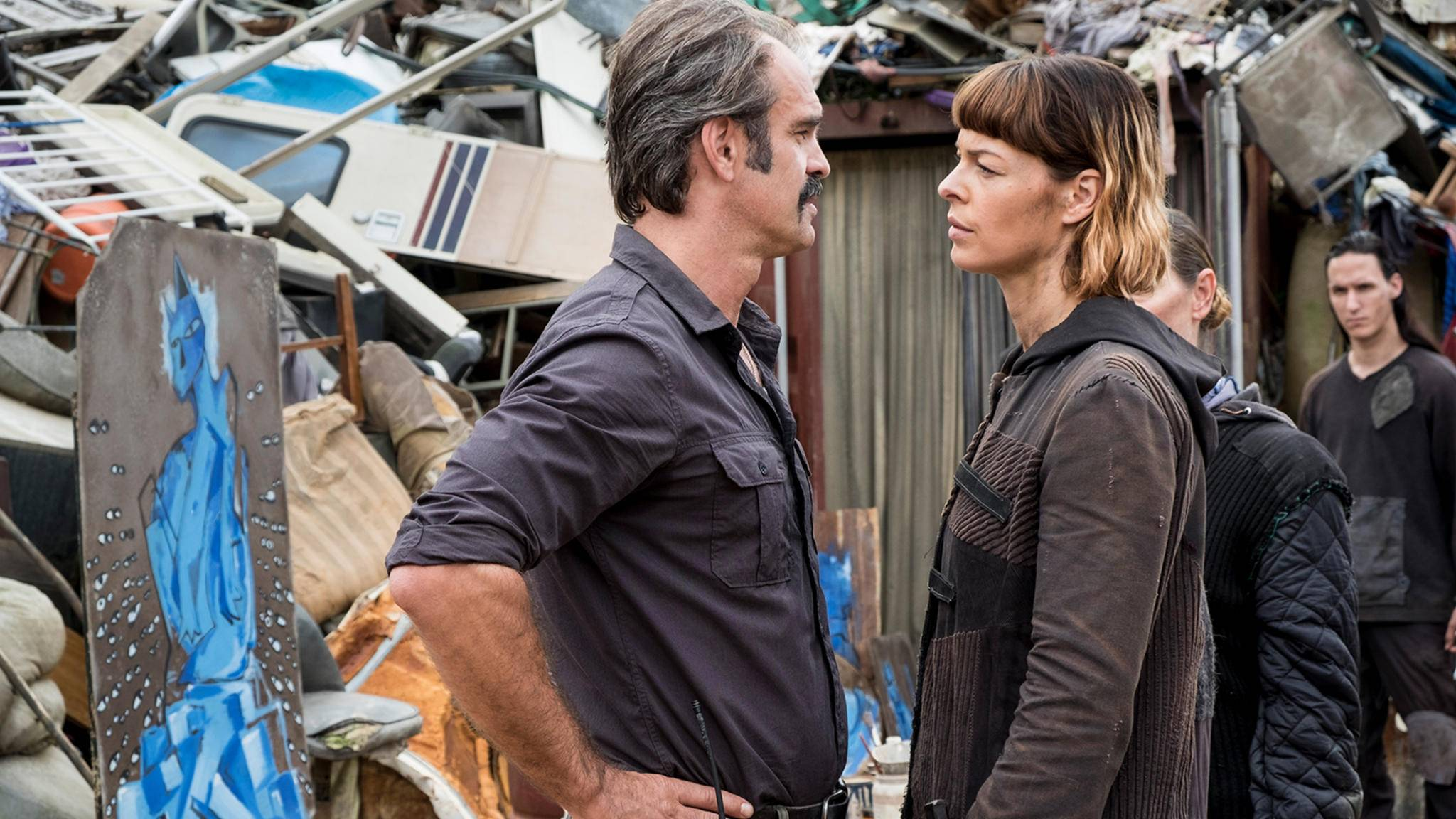 In Episode 10 von Staffel 8 gerieten Simon und Jadis ziemlich aneinander.