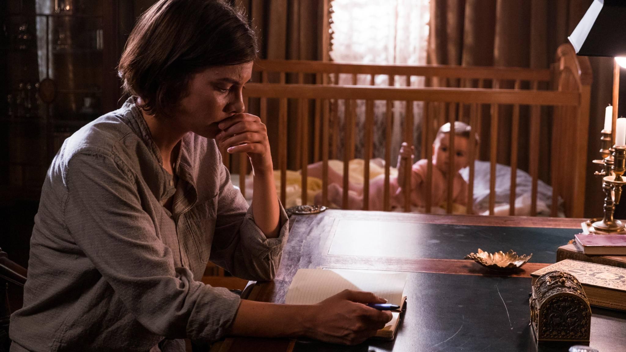 Nein, das im Hintergrund ist leider noch nicht Maggies Baby.