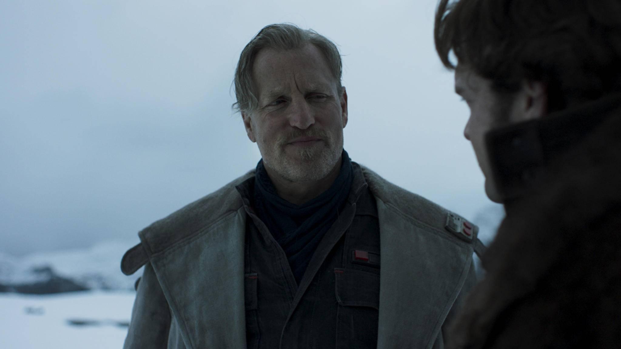 Woody Harrelson spielt Han Solos Mentor Beckett.