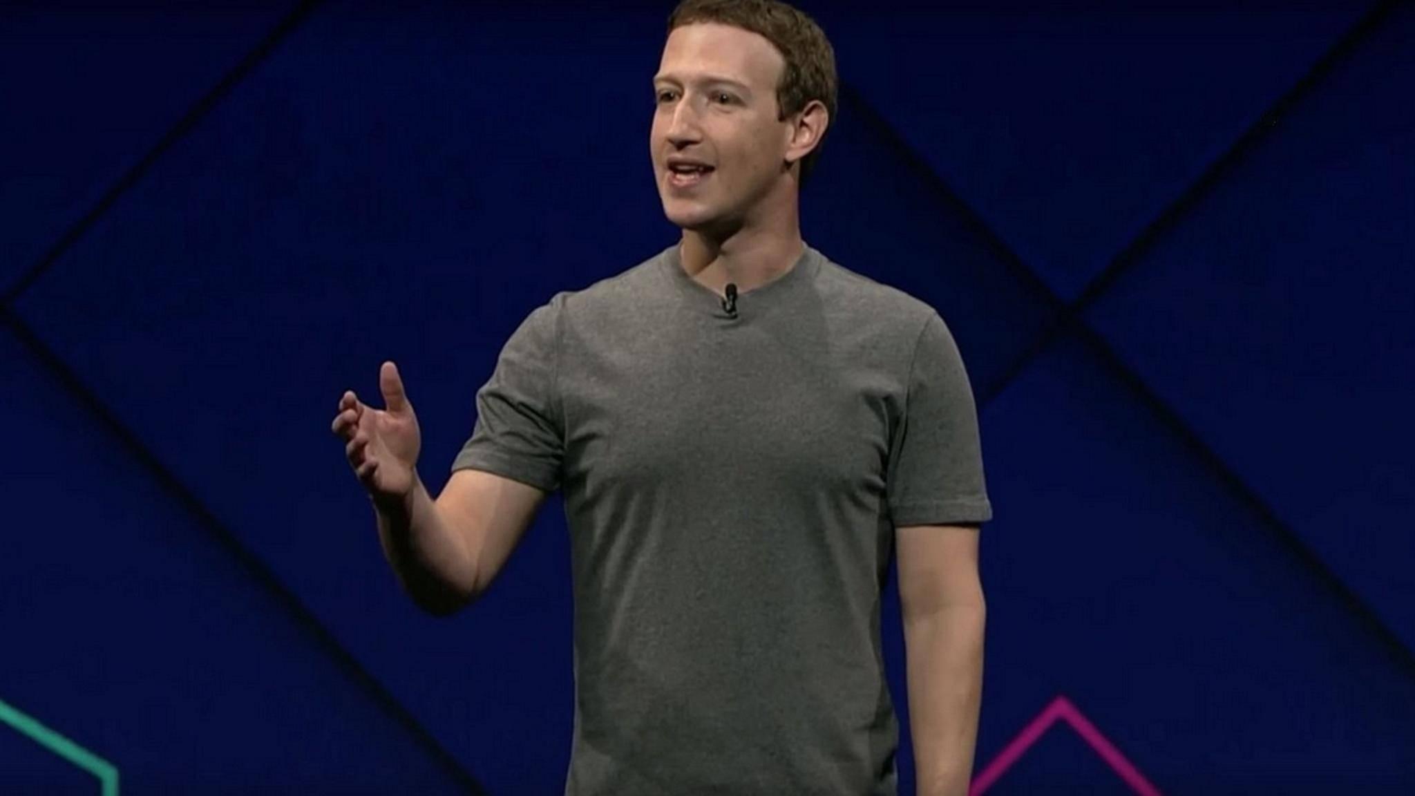 Facebook-Chef Mark Zuckerberg möchte die Datensicherheit verbessern.