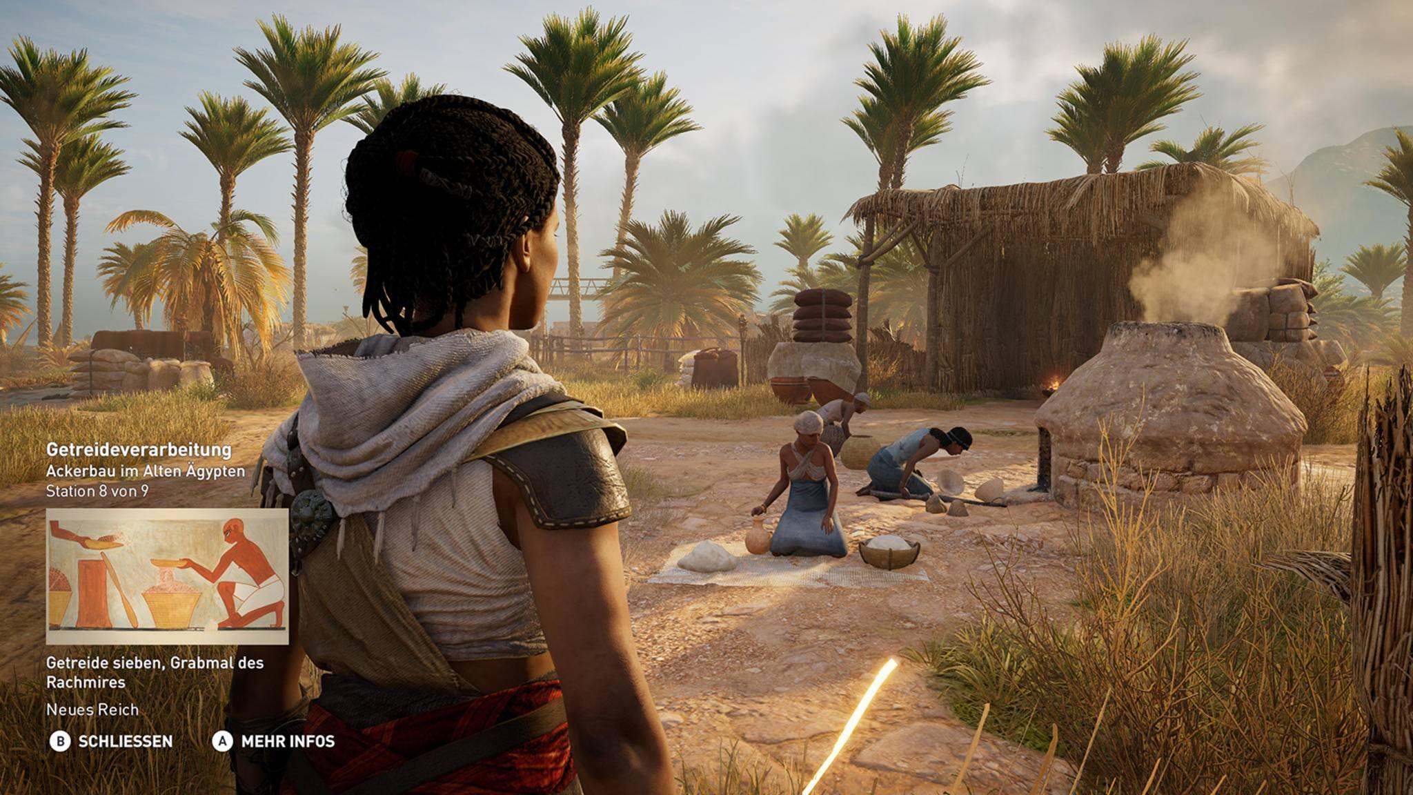 """Im """"Discovery""""-Modus von """"Assassin's Creed: Origins"""" steht mir die Spielwelt offen, ohne dass ich um mein virtuelles Leben fürchten muss."""