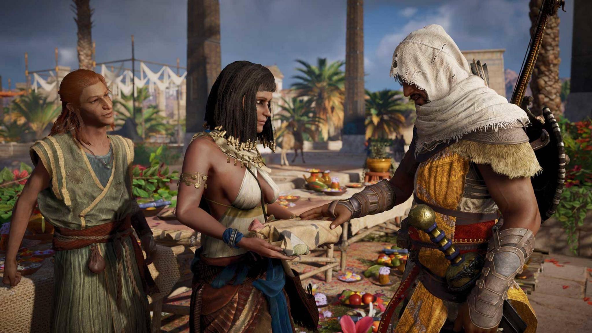 "In ""Assassin's Creed: Origins"" kann man bald alles einstellen."