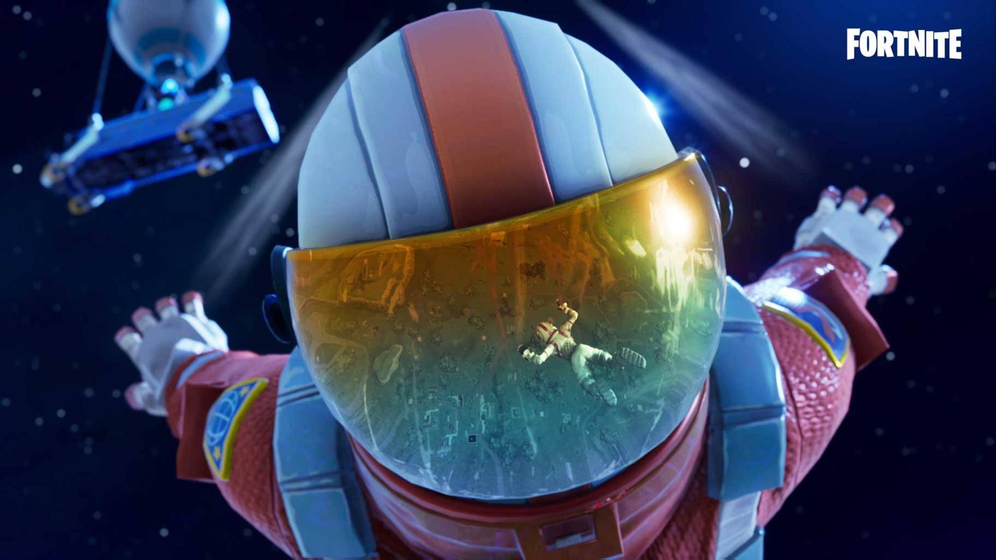 """""""Fortnite""""-SPieler warten gespannt auf ein kosmisches Ereignis."""