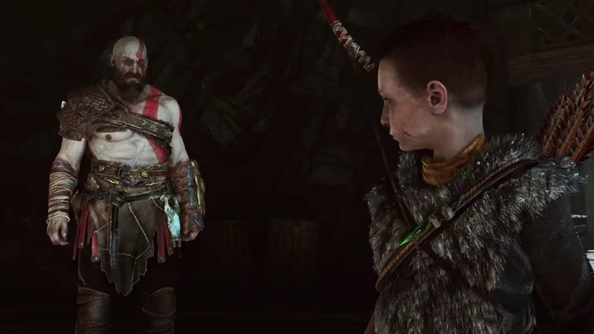 """""""God of War"""": Nun kannst Du Atreus in einem Text-Adventure spielen."""