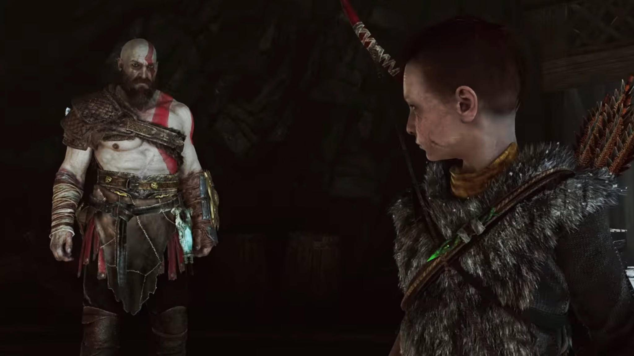 """God of War"": Nun kannst Du Atreus in einem Text-Adventure spielen."