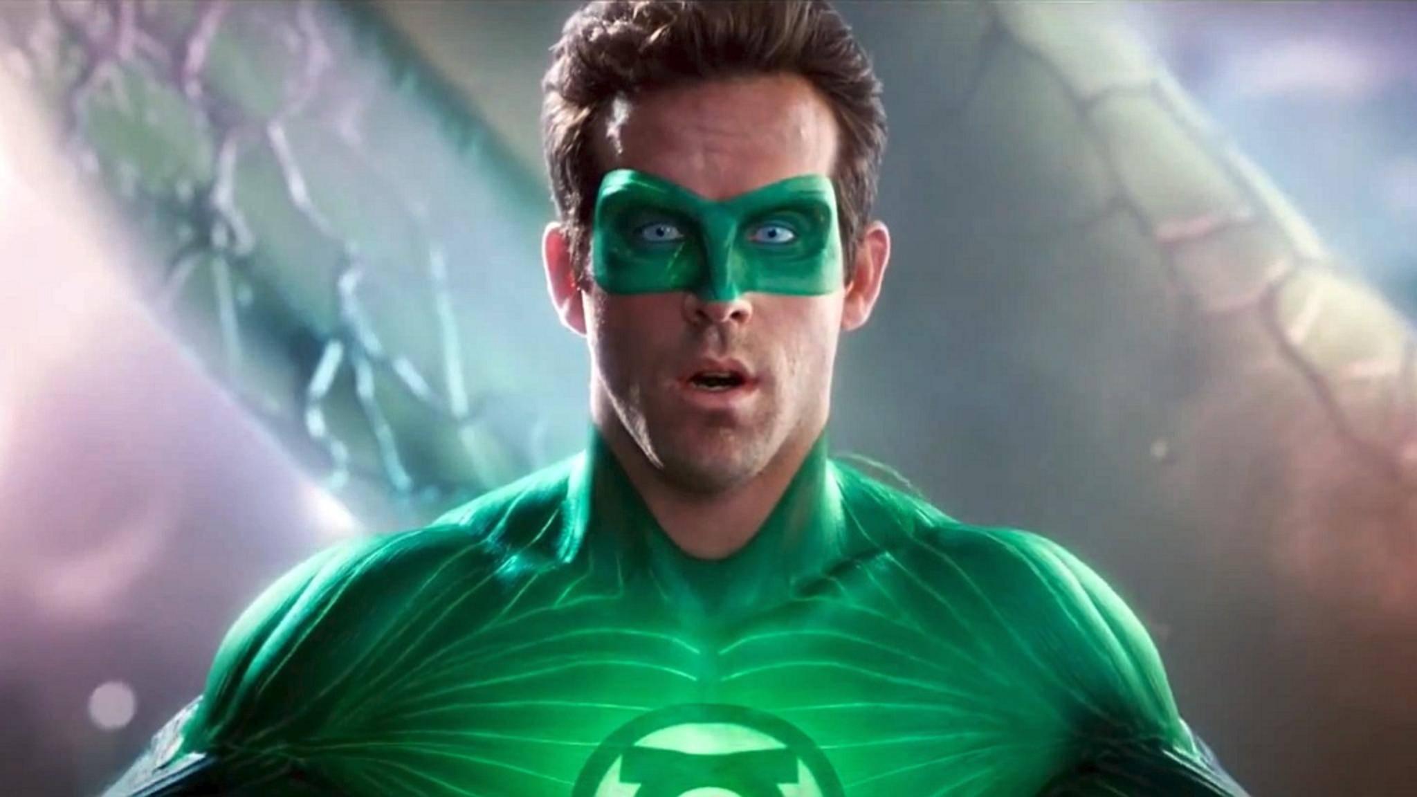 """Schade, Ryan: """"Green Lantern"""" bekam von Warner bisher nur einen Film spendiert."""