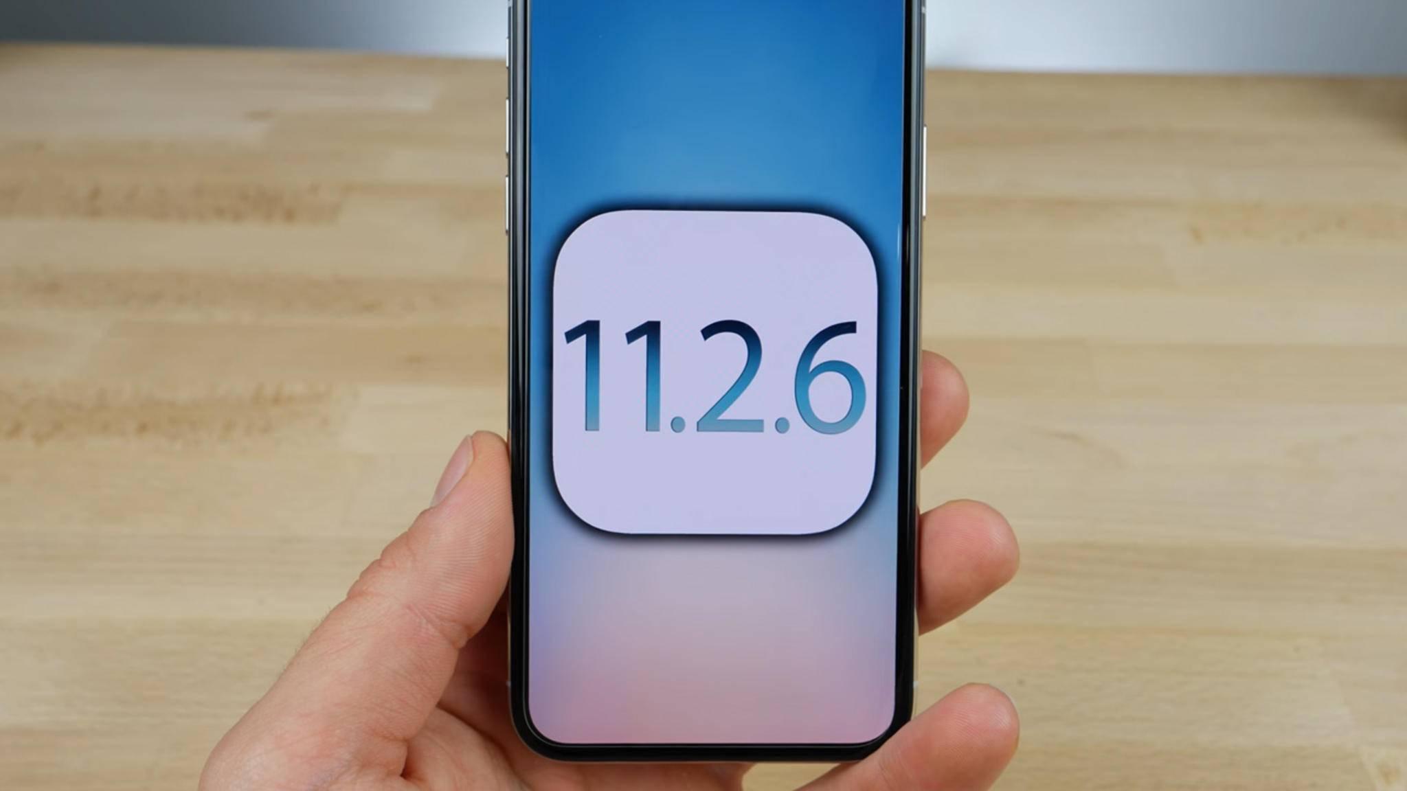 iOS 11.2.6 ist die derzeit aktuellste Version von Apples mobilem Betriebssystem.