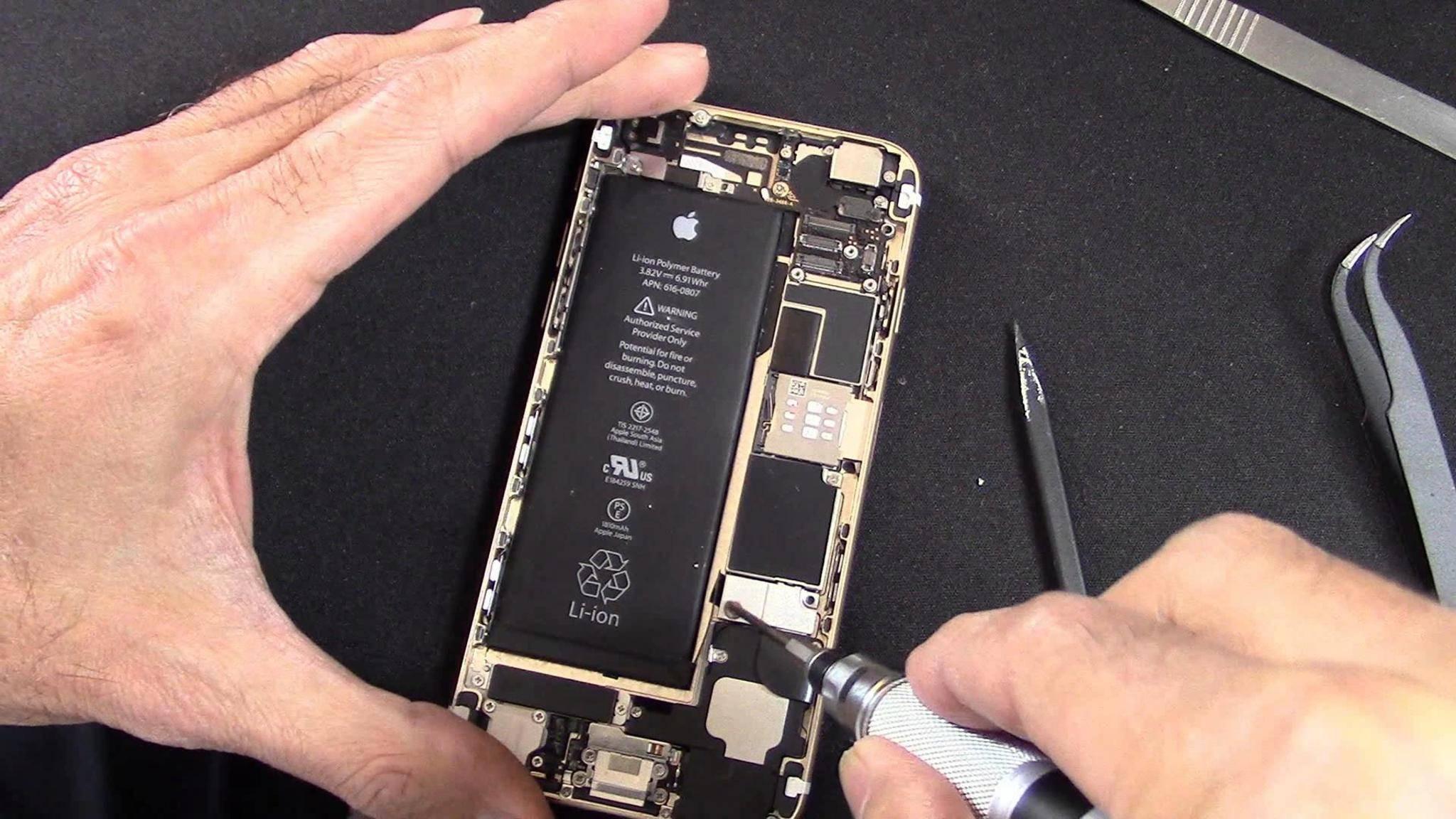 Apple will die Kontrolle über iPhone-Reparaturen behalten.