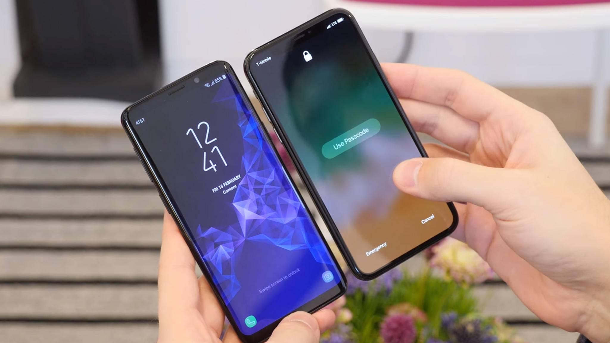 Die Gestensteuerung des iPhone X lässt sich auch auf Android-Smartphones einrichten.