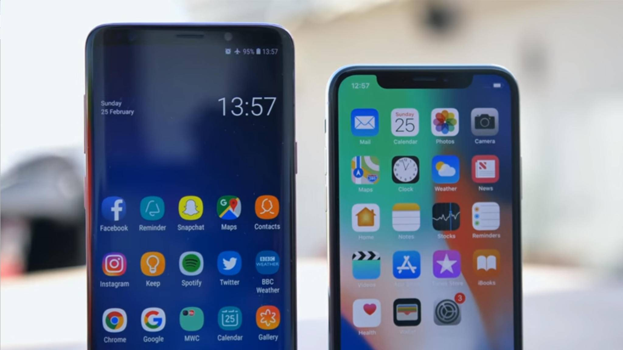 iOS hat die Nase vorn, wenn es um Smartphone-Sicherheit geht.