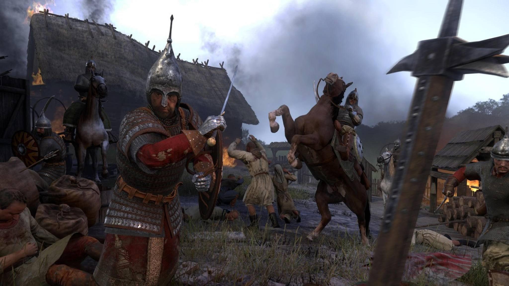 Die Kumanen sind im ganzen Land gefürchtet. Wenn Heinrich ihre Reihen ausdünnt, wird er dafür mit barer Münze entlohnt.