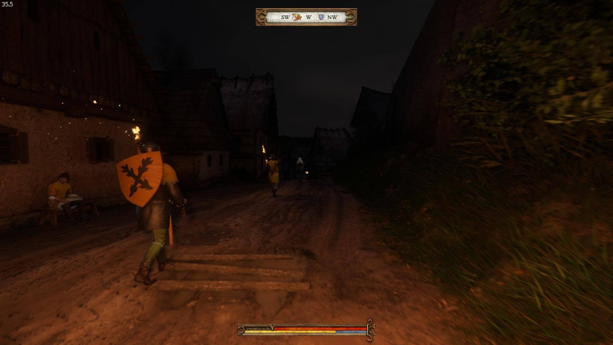Nachts patrouilliert immerhin die Stadtwache.