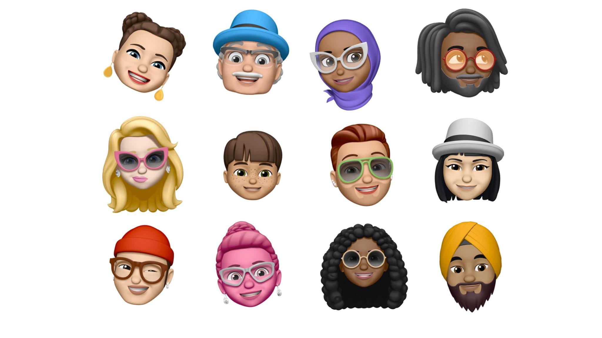 Memojis sind animierte Avatare, die iPhone-Nutzer mit iOS 12 erstellen können.