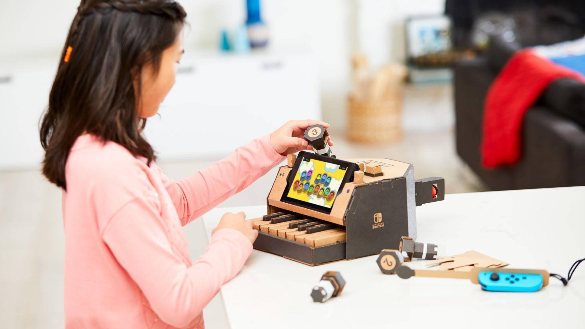 Nintendo Labo erscheint am 20. April.