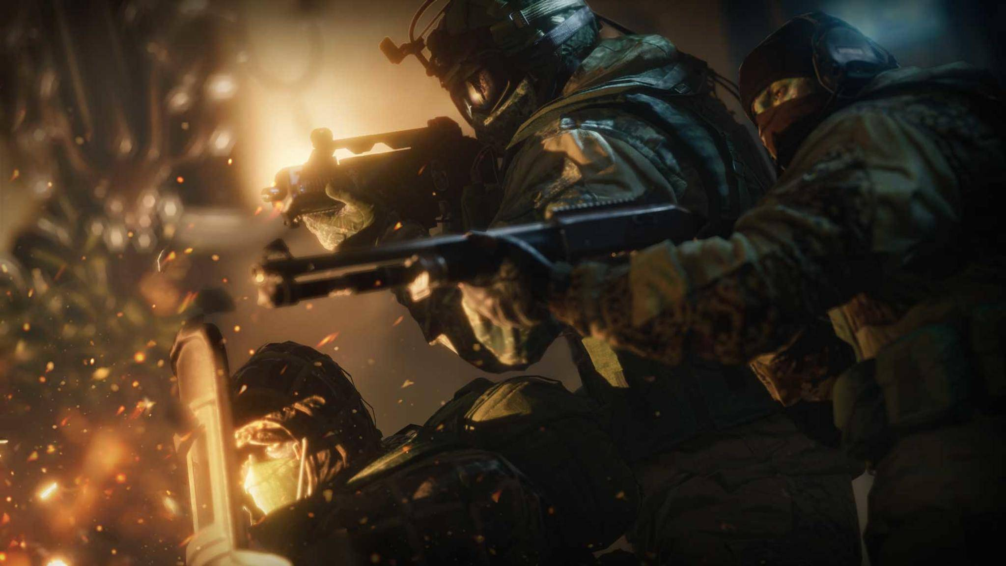 "Auch in der nächsten Generation am Start: ""Rainbow Six Siege""."