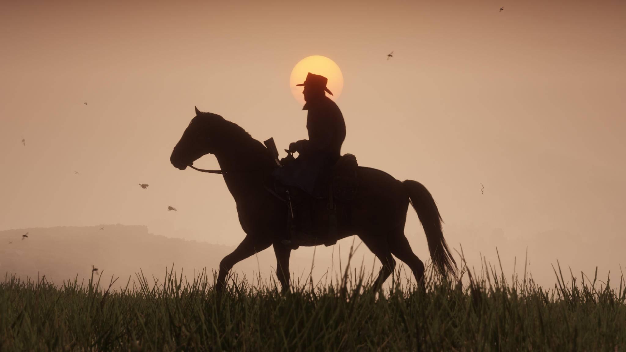 """Bis zum Ritt durch die Welt von """"Red Dead Redemption 2"""" vergehen leider noch ein paar Monate mehr."""