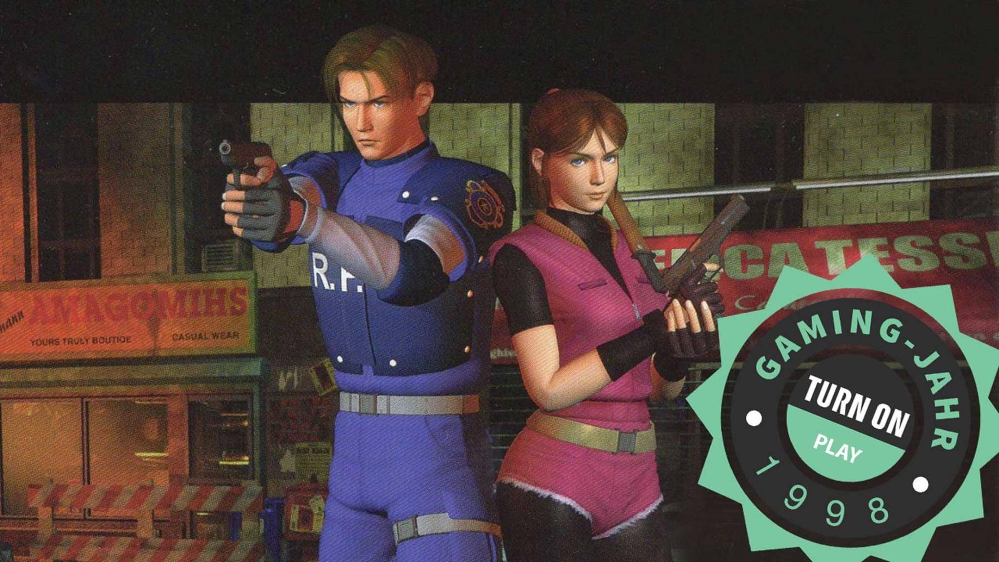 Das waren Zeiten 1998, als Rendermodelle die Cover von Blockbuster-Titeln zierten.