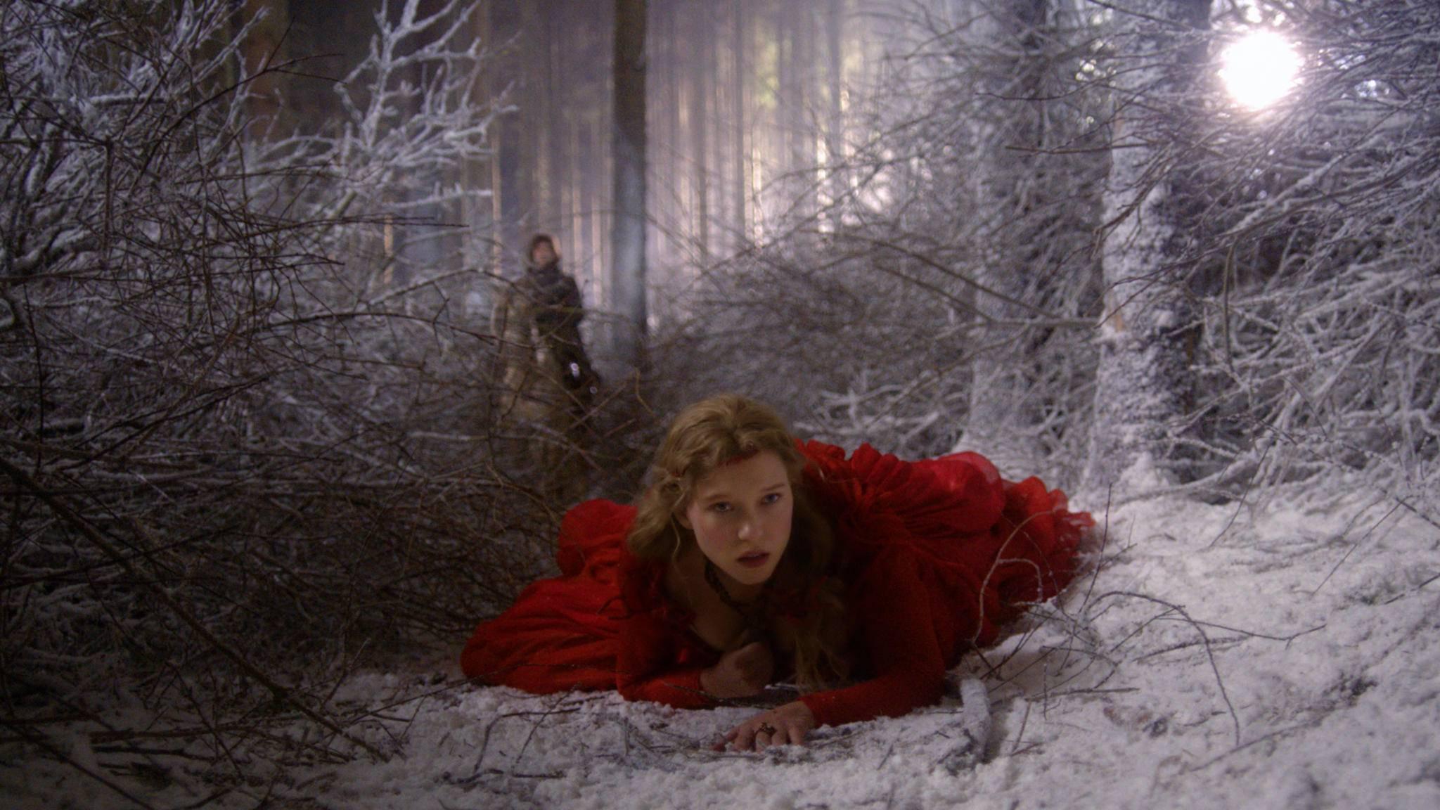 Eine Prinzessin in einem verzauberten Wald ist eine ideale Grundlage für einen unterhaltsamen Märchenstoff.
