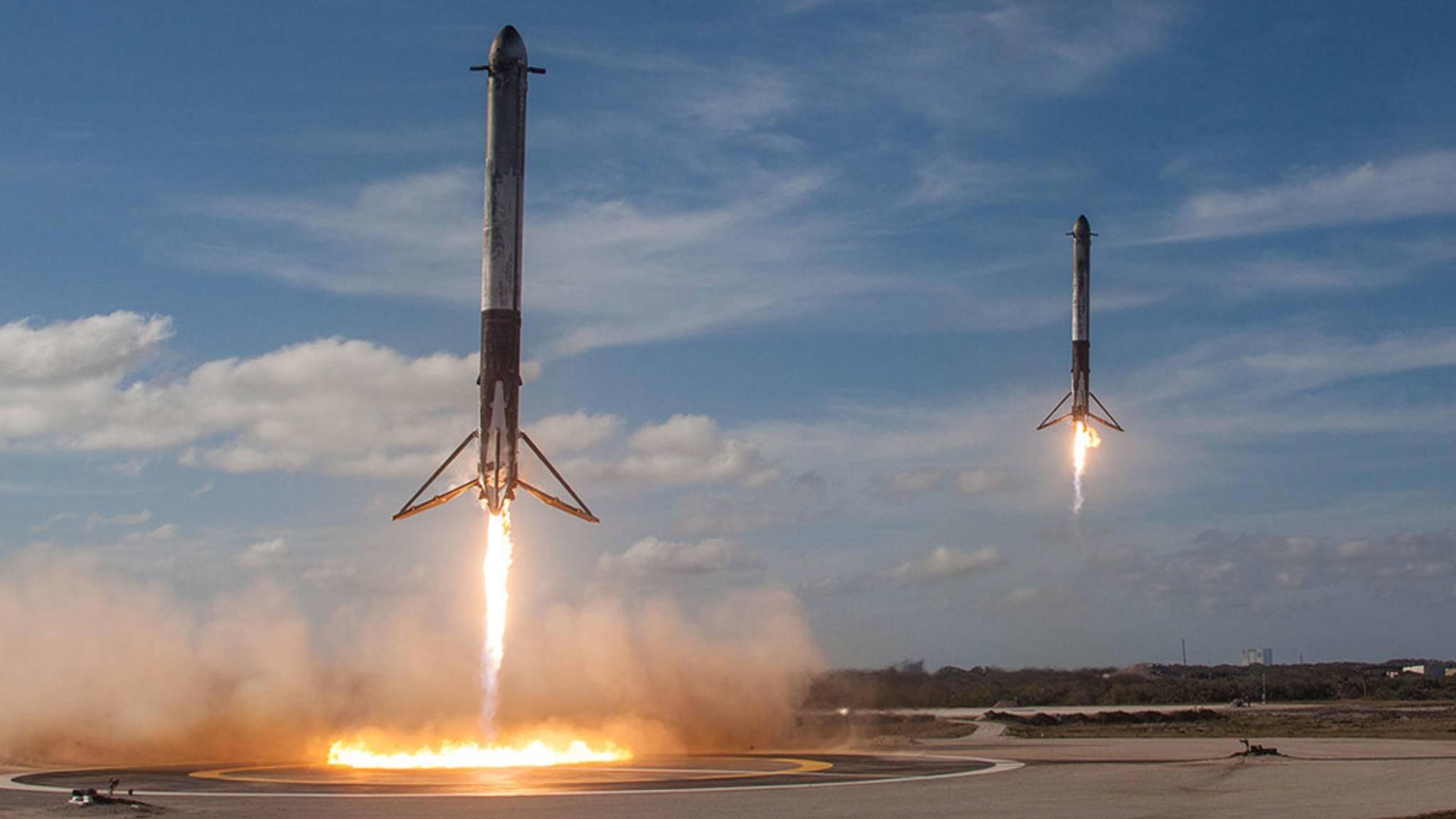 Tesla-Chef Elon Musk hat seine SpaceX Falcon Heavy diese Woche erfolgreich ins Weltall geschossen.