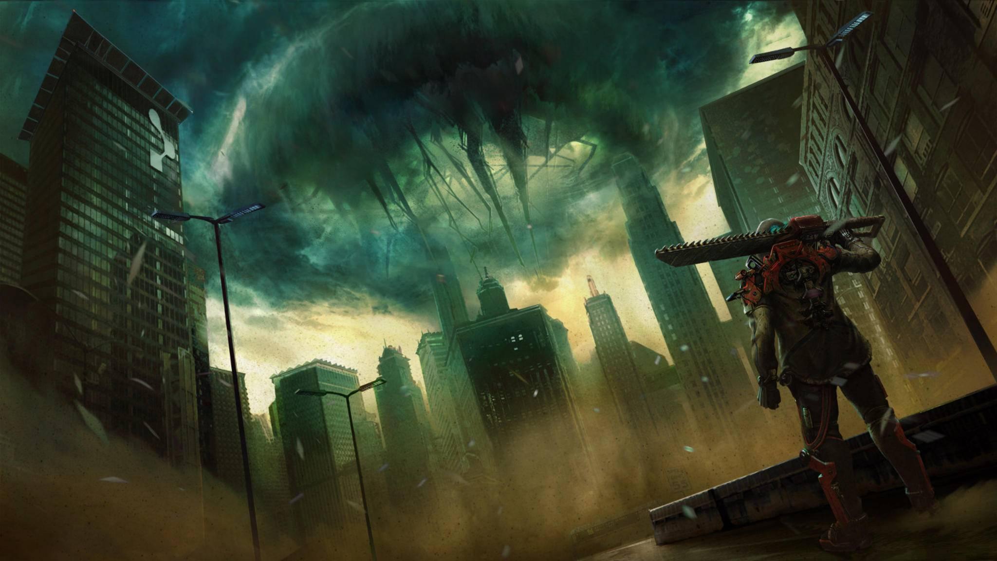 """Zurück in die Zukunft: """"The Surge 2"""" feiert 2019 seinen Release."""