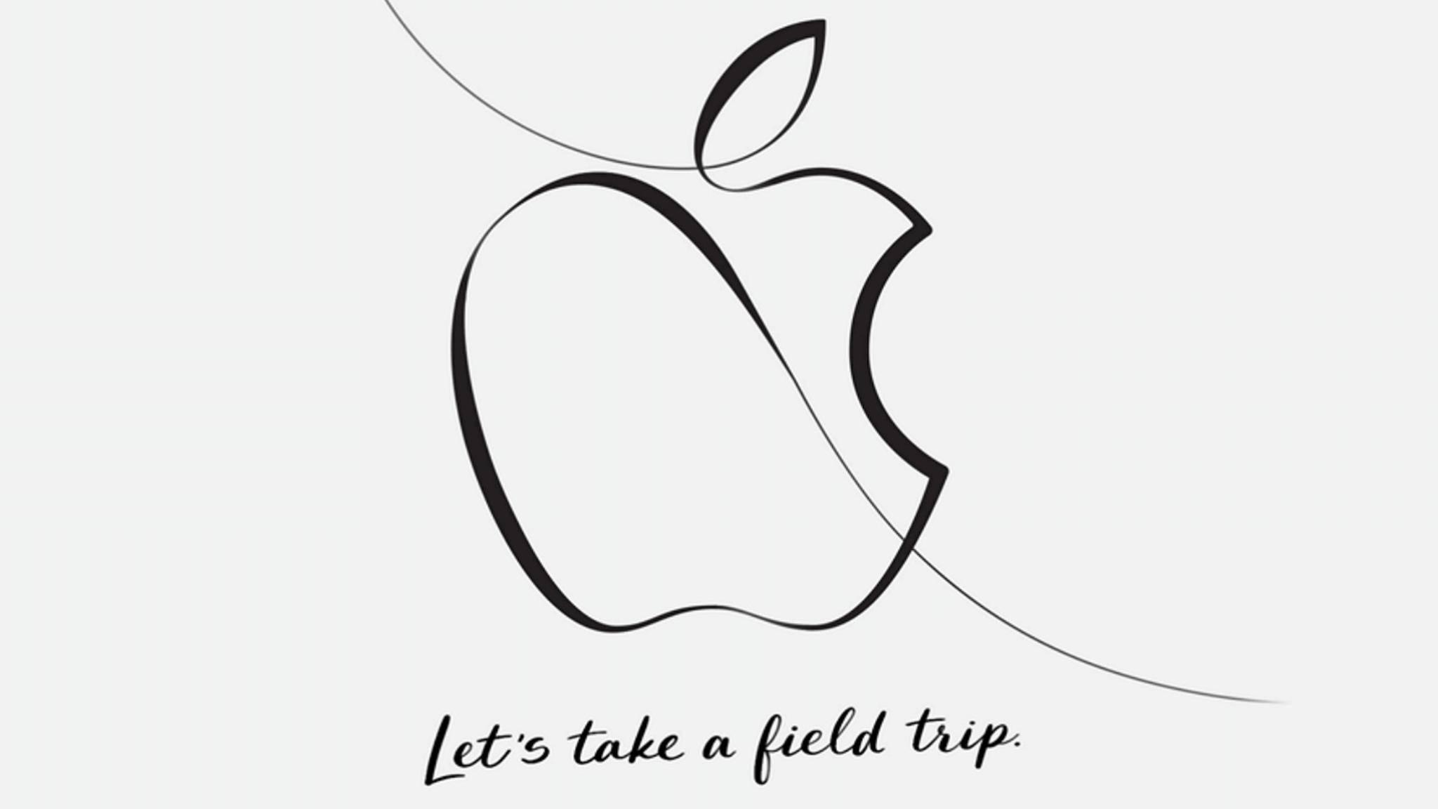 """Apple lädt zu einem """"Schulausflug"""" im März ein."""