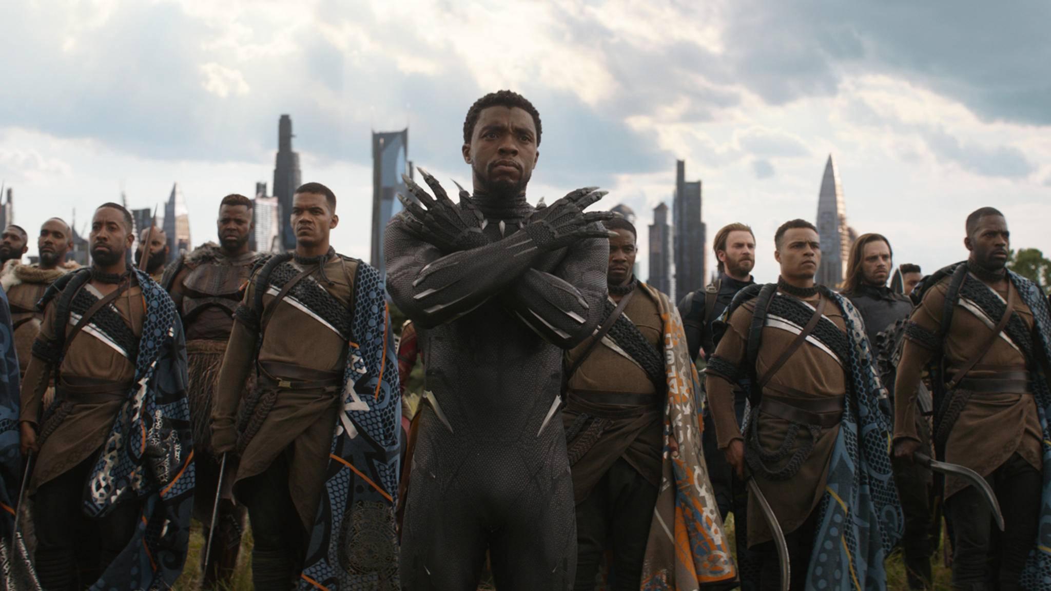 """Da fährt auch der Black Panther gereizt die Krallen aus – """"Infinity War"""" wurde offenbar ohne Einbezug der Regisseure zensiert."""